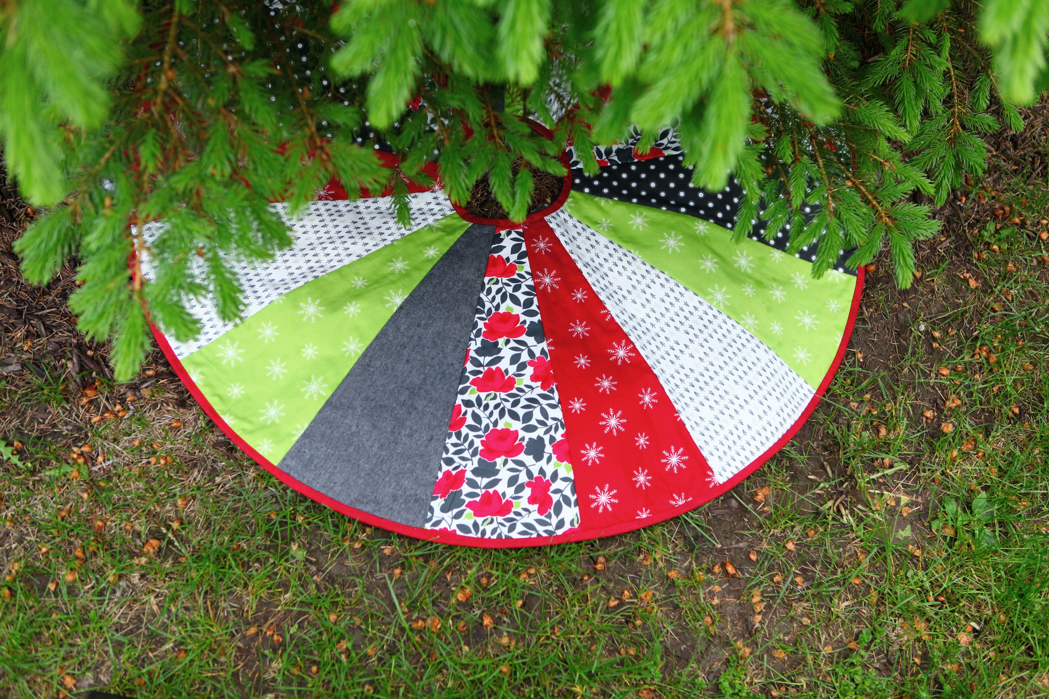 June Tailor Quilt As You Go Tree Skirt-Pattern 40 Diameter 1/Pkg