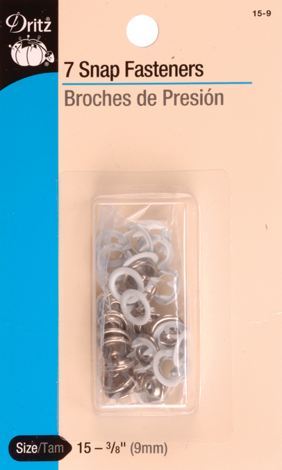 SNAP FASTENERS 3/8