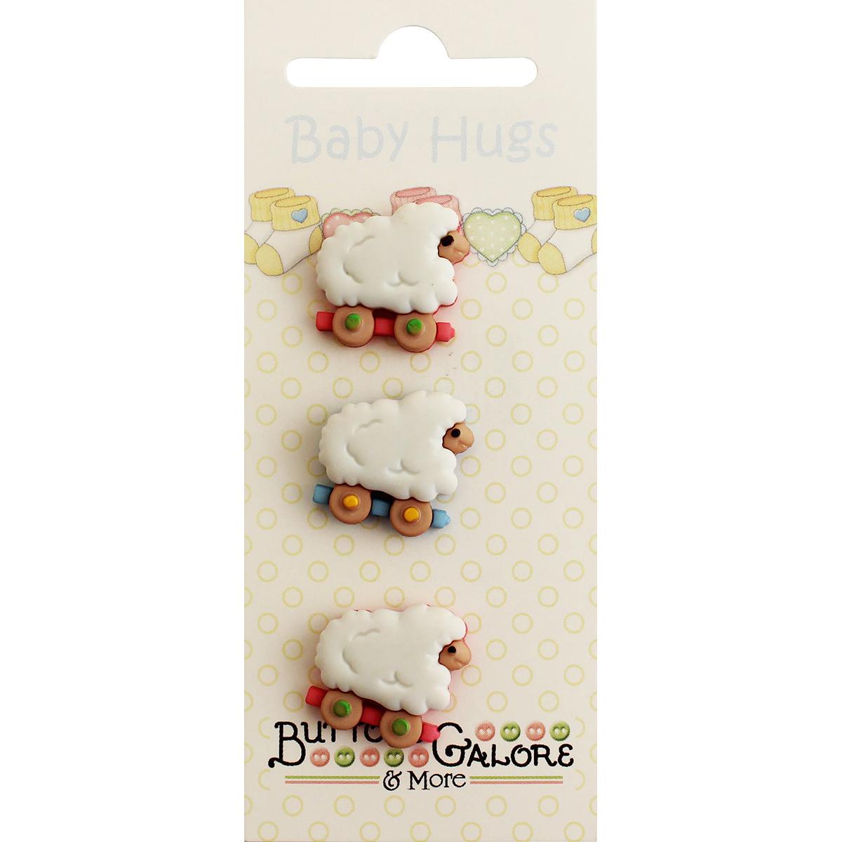 Sheep Buttons Baby Hugs