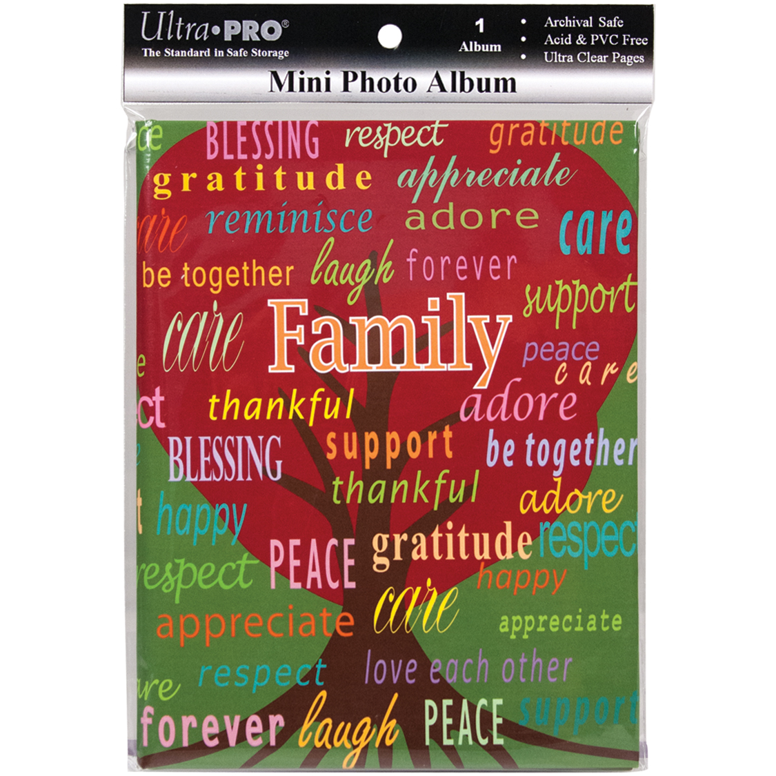 Ultra Pro Mini Photo Album 4X6 -Family
