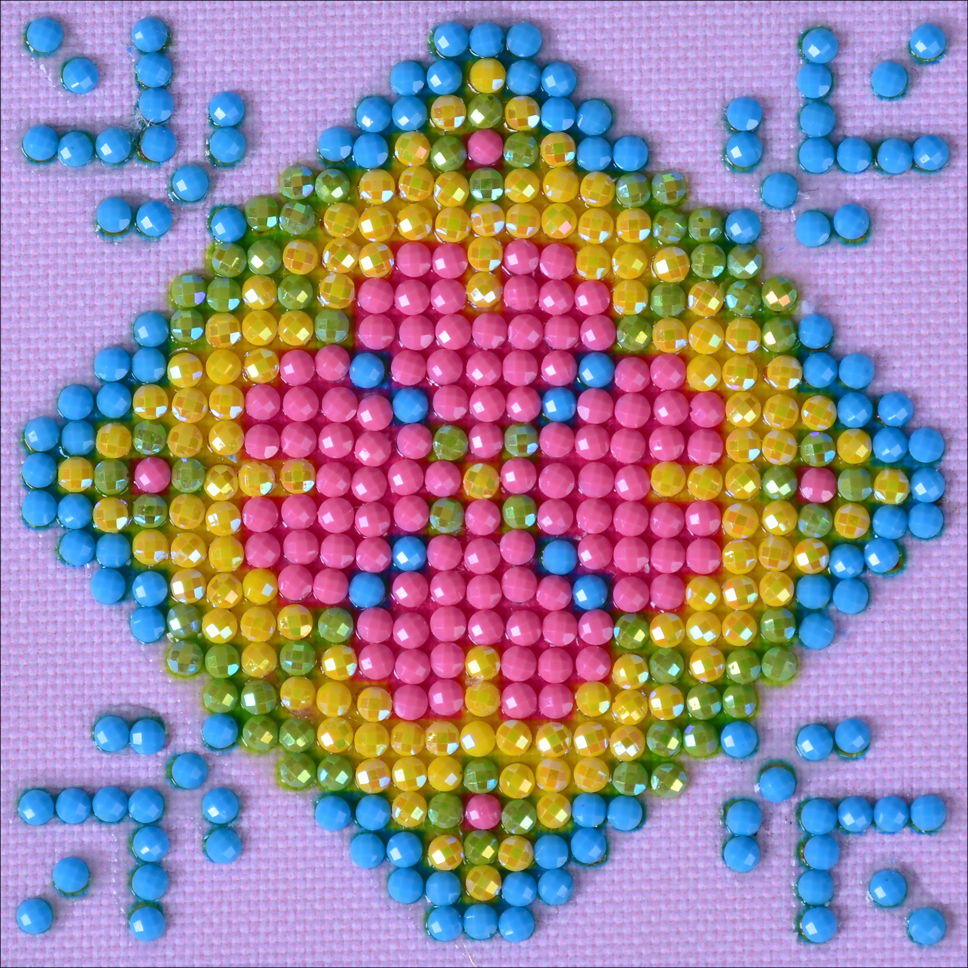Diamond Dotz Diamond Embroidery Facet Art Kit 4.75X4.75-Patchwork Mandala 2