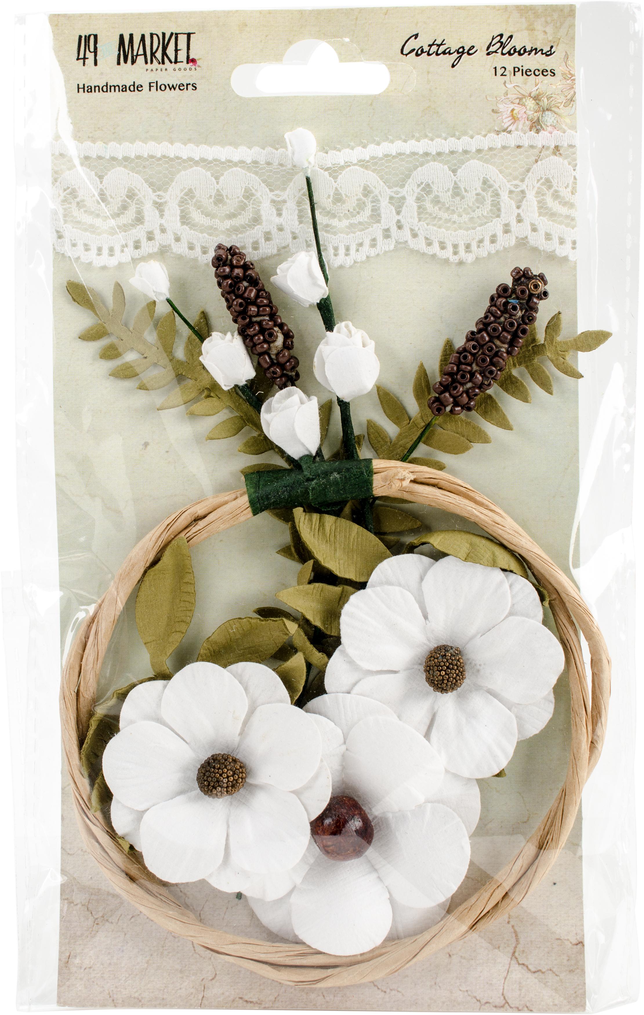 Cottage Blooms - Cotton