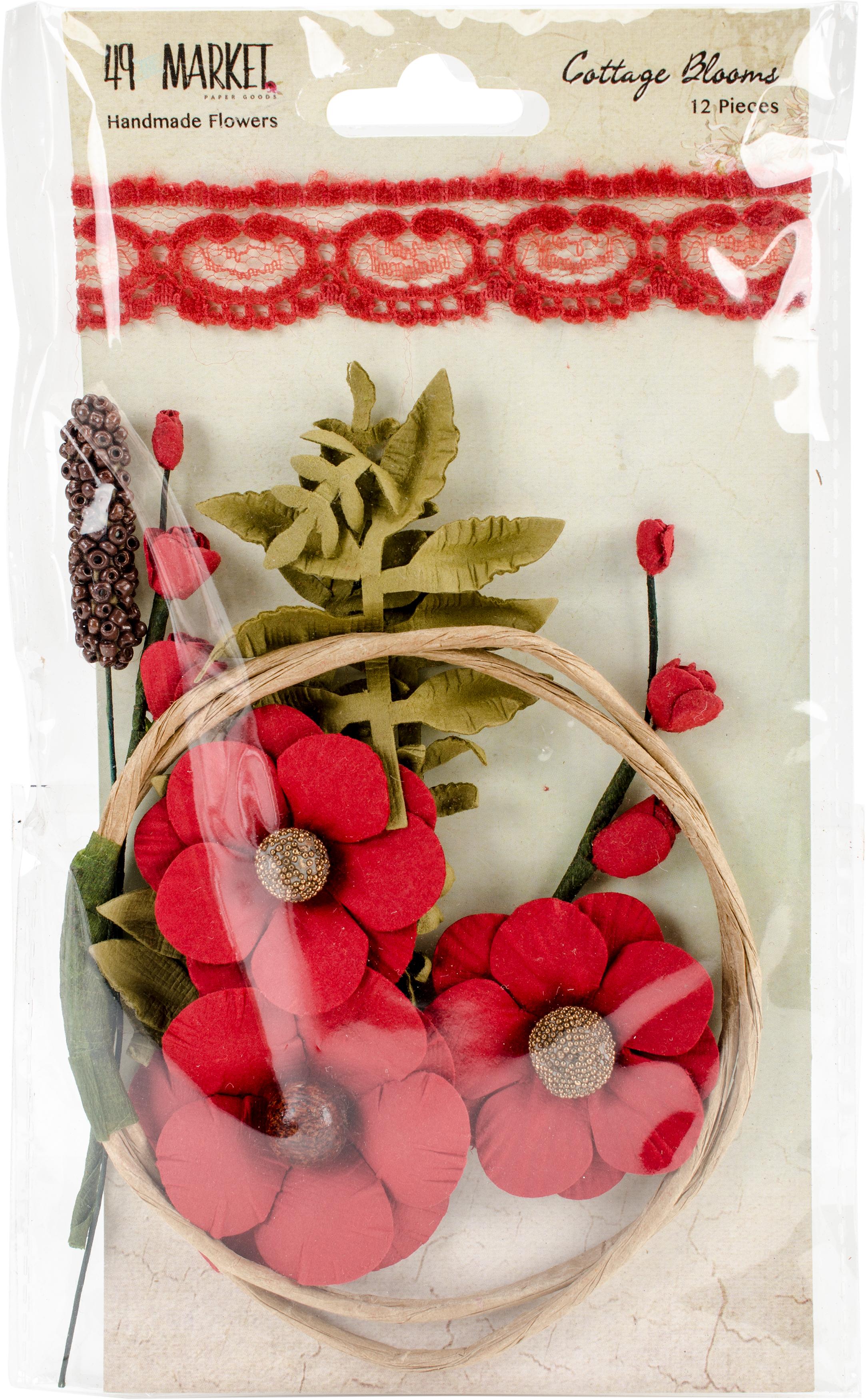 Cottage Blooms-Poppy
