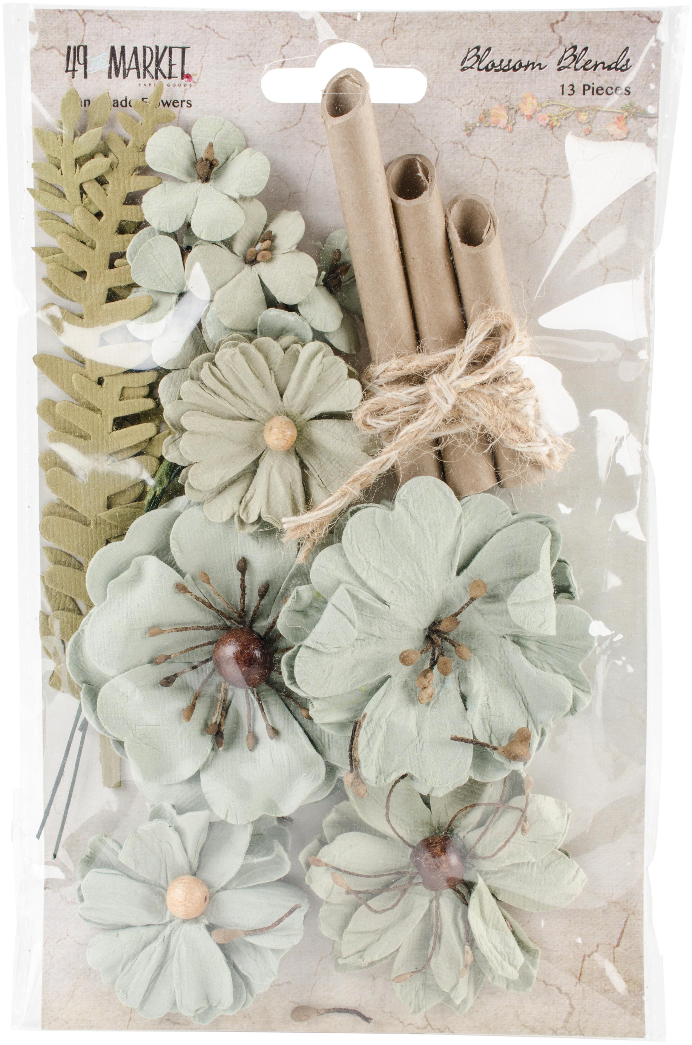 49 And Market Blossom Blends 13/Pkg-Aloe, 2.5