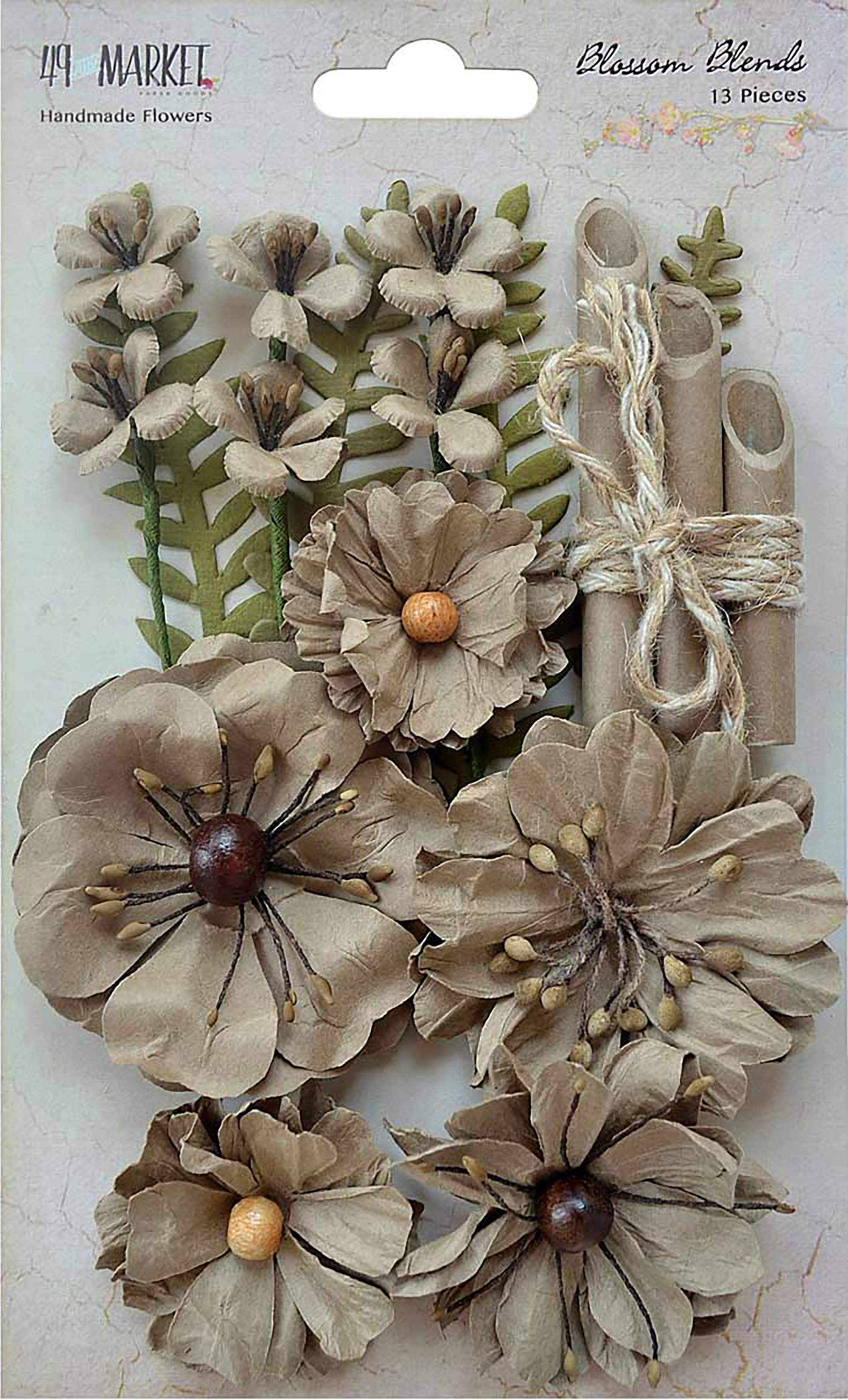 Blossom Blends 13/Pkg Linen