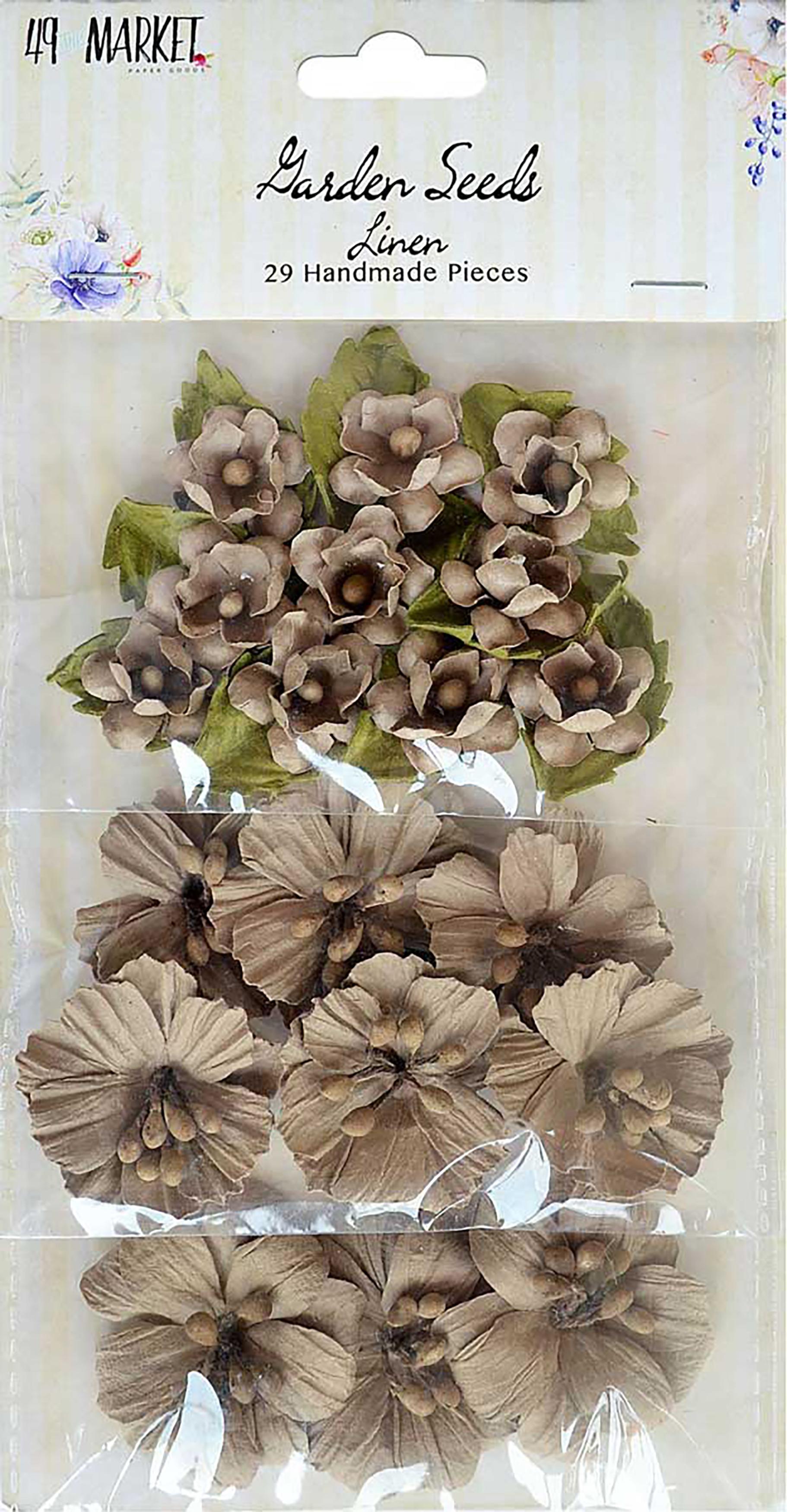 49 And Market Garden Seed Flowers 29/Pkg-Linen, .75 - 1.5