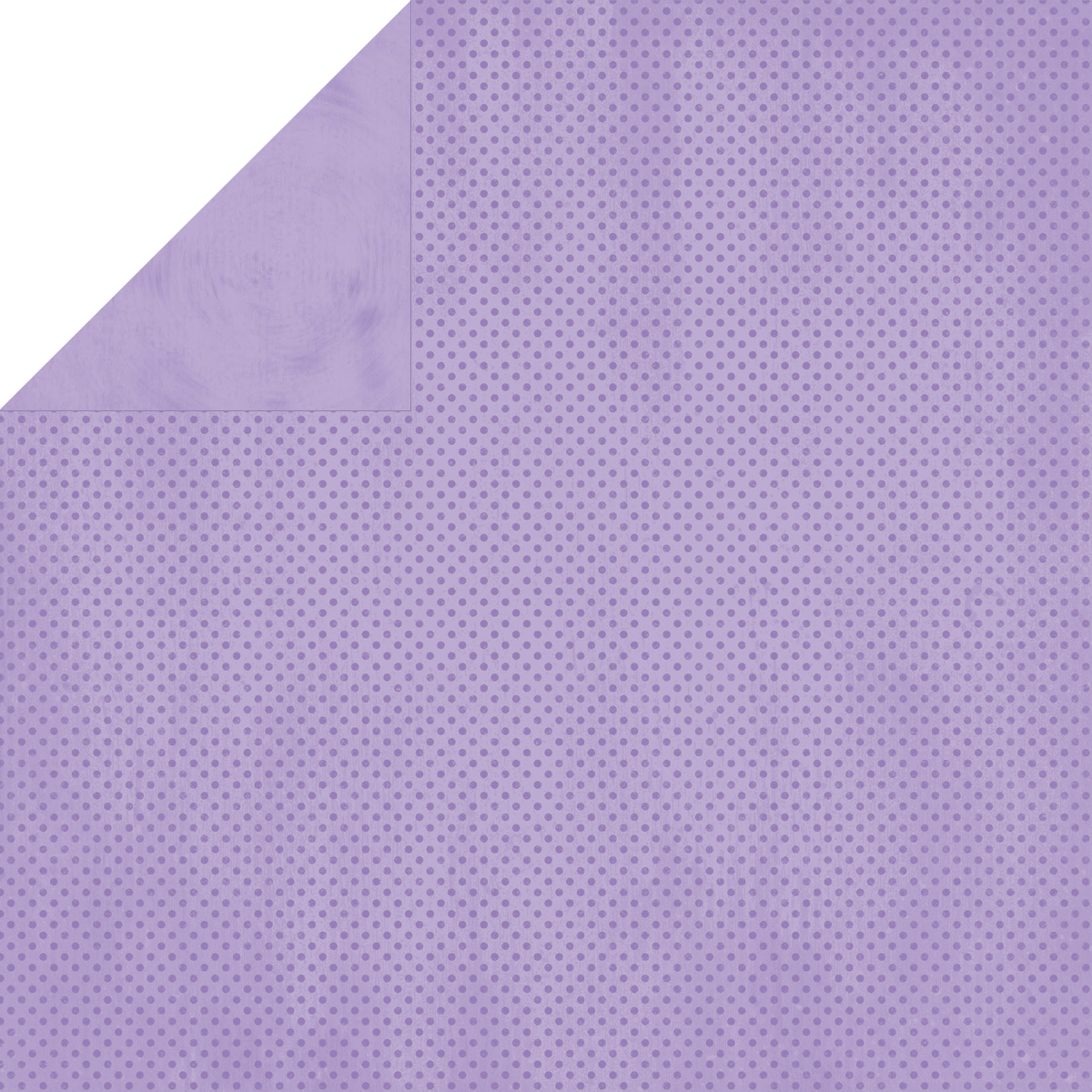BoBunny Double Dot Double-Sided Textured Cardstock 12X12-Lavender