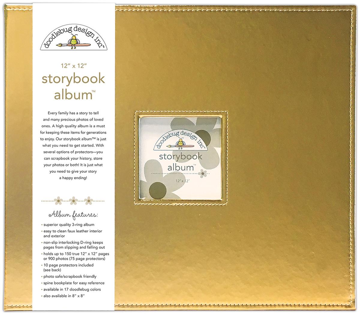 ALBUM 12X12 GOLD