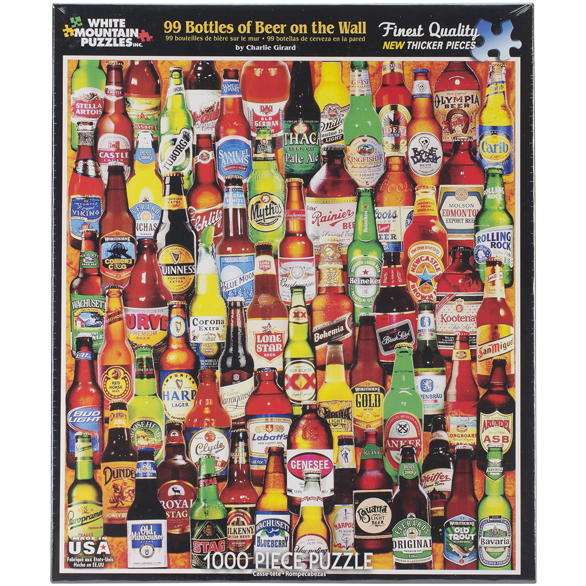 Jigsaw Puzzle 1000 Pieces 24X30-99 Bottles Of Beer On The Wall