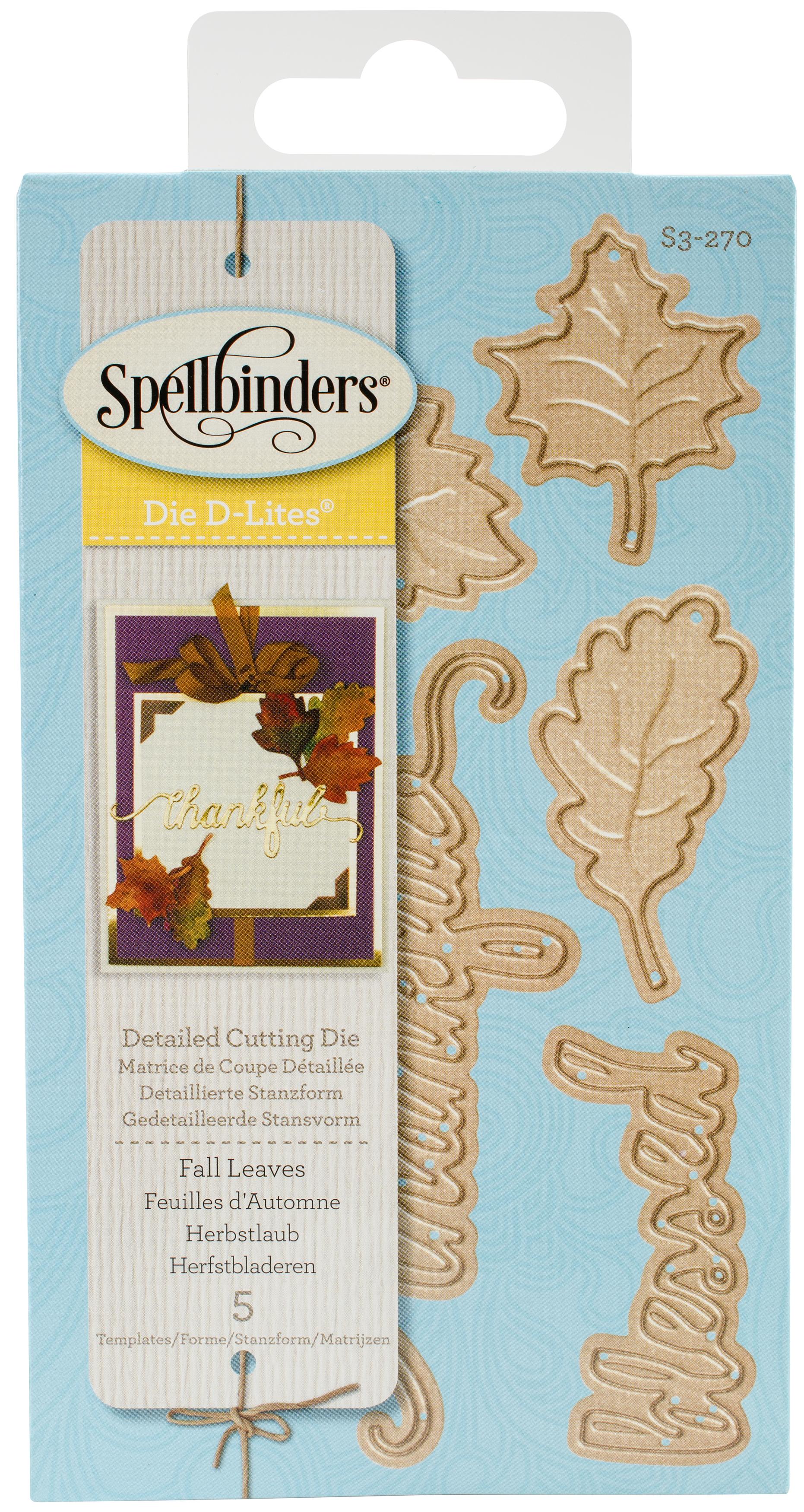 Spellbinders Shapeabilities Die D-Lites-Fall Leaves