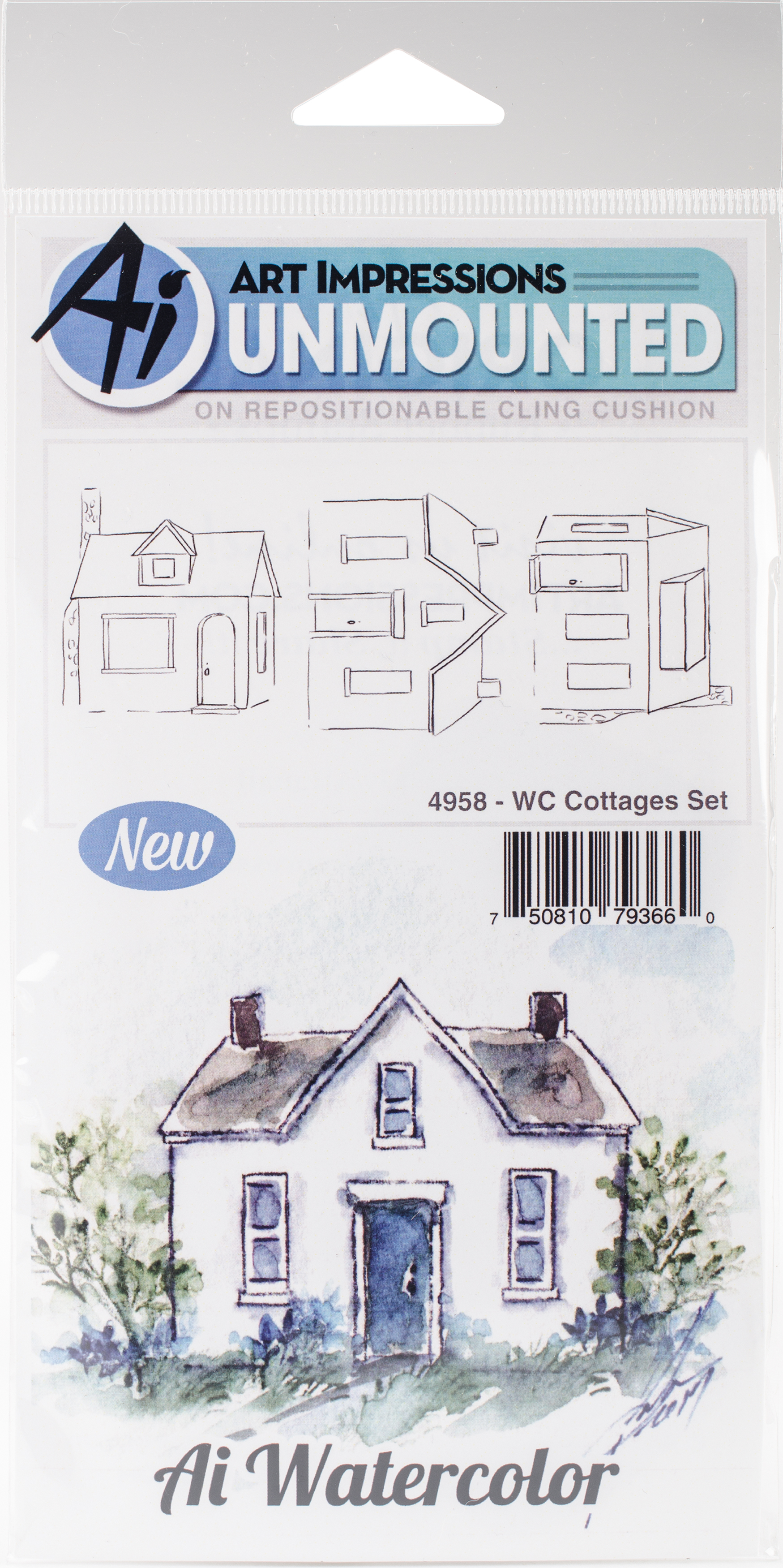 WC Cottages Set