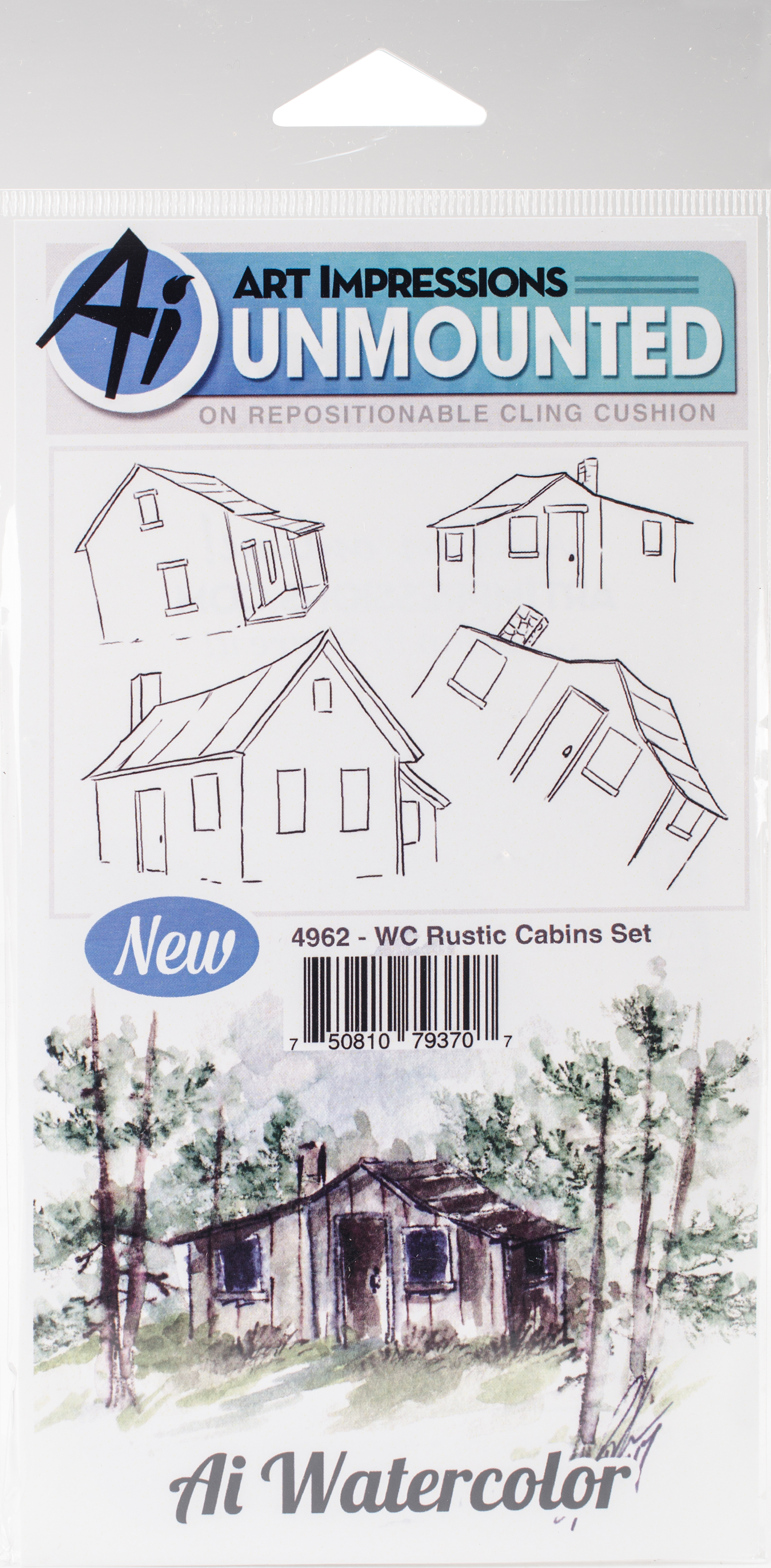 WC Rustic Cabins Set