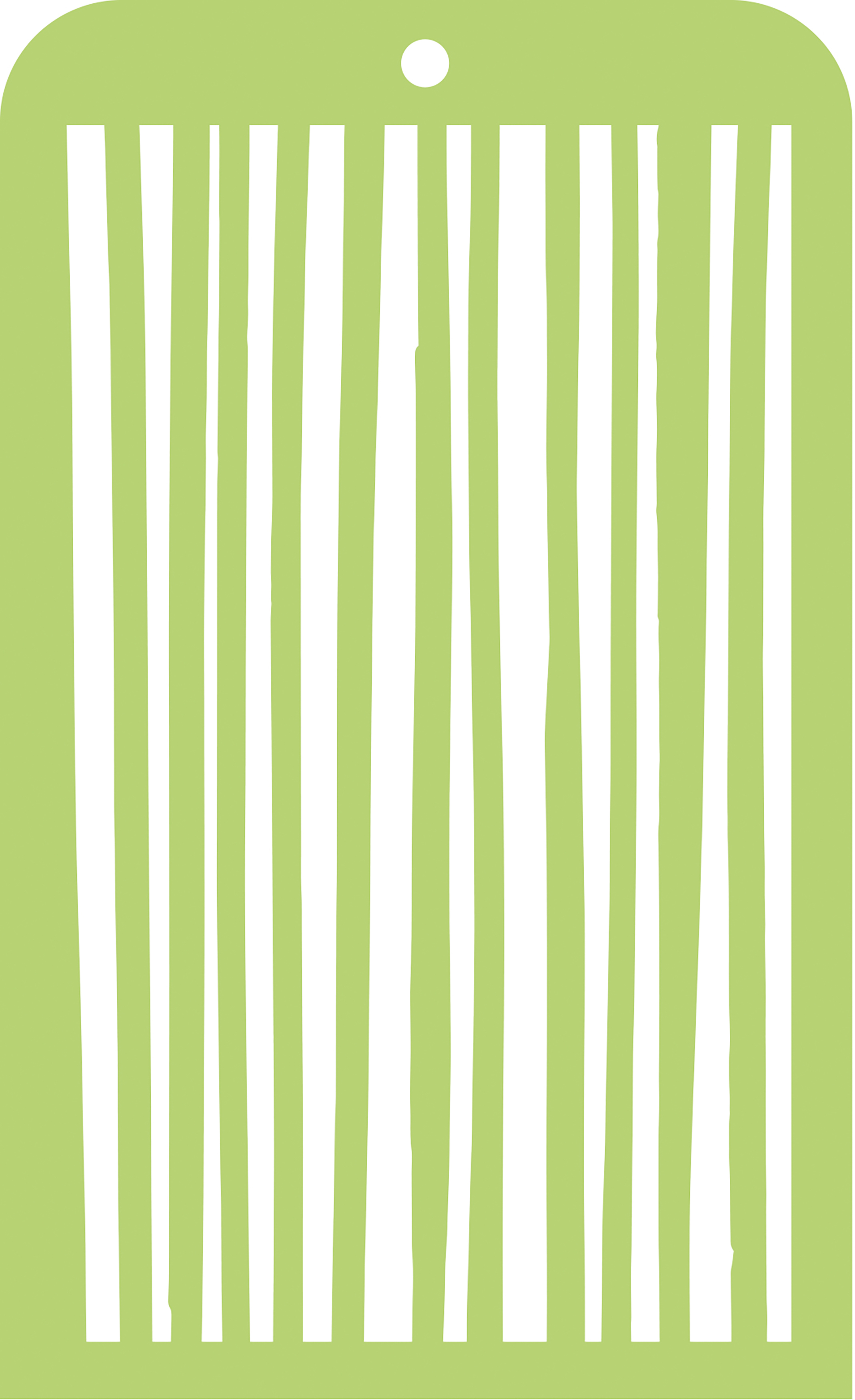 Kaisercraft Mini Designer Templates 3.5X5.75-Stripes