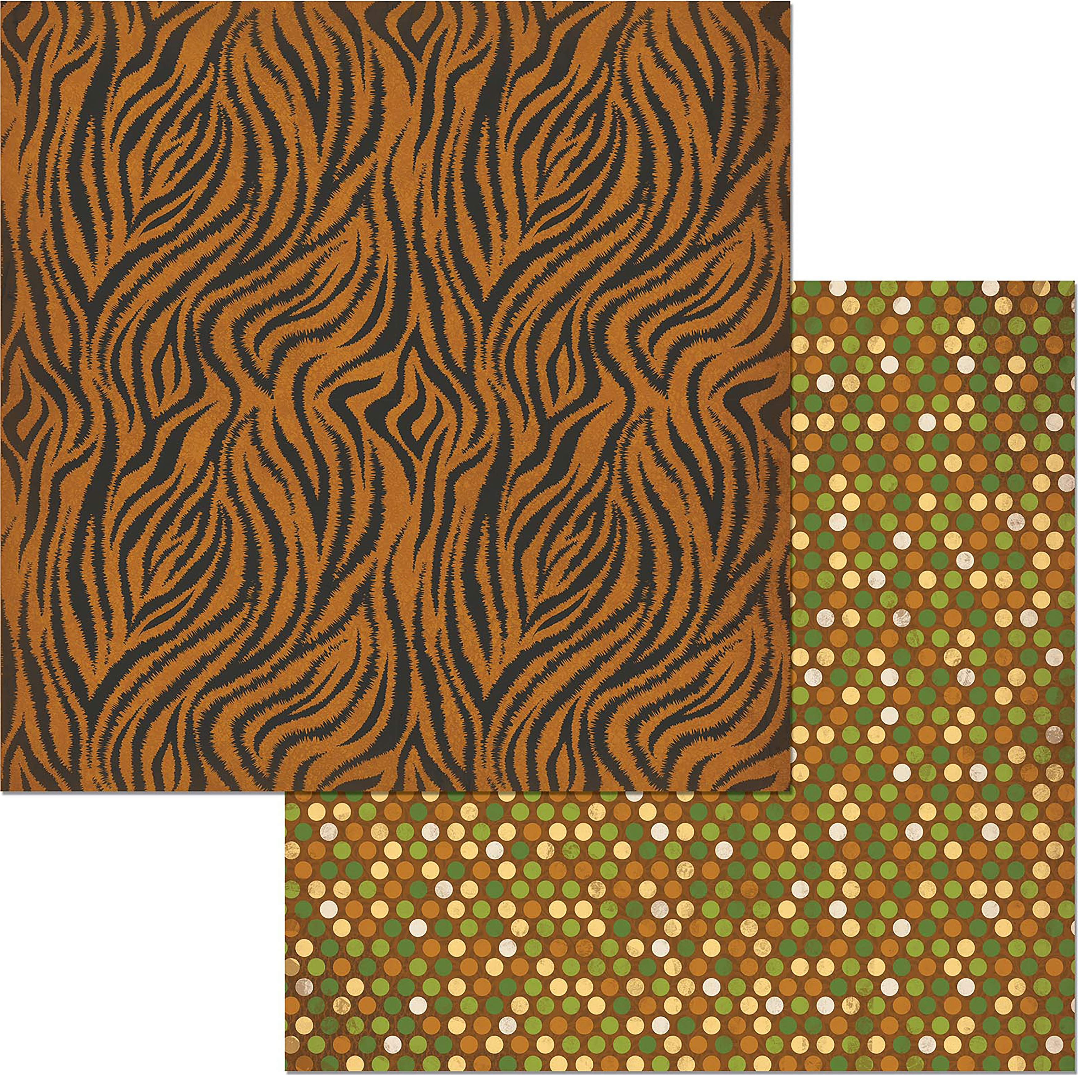 Jungle Life Double-Sided Cardstock 12X12-Zoo