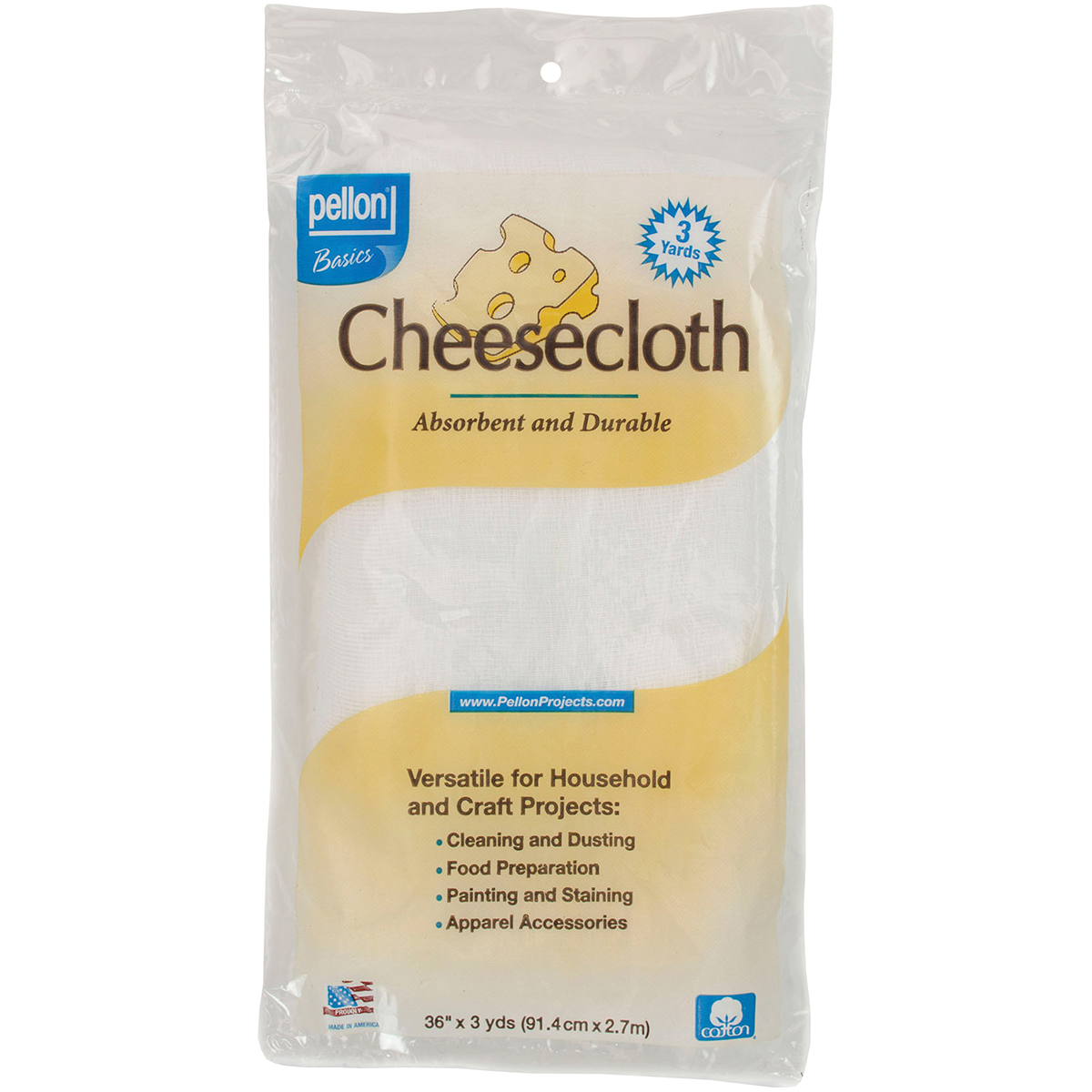 Pellon Cheesecloth-White 36X3yd