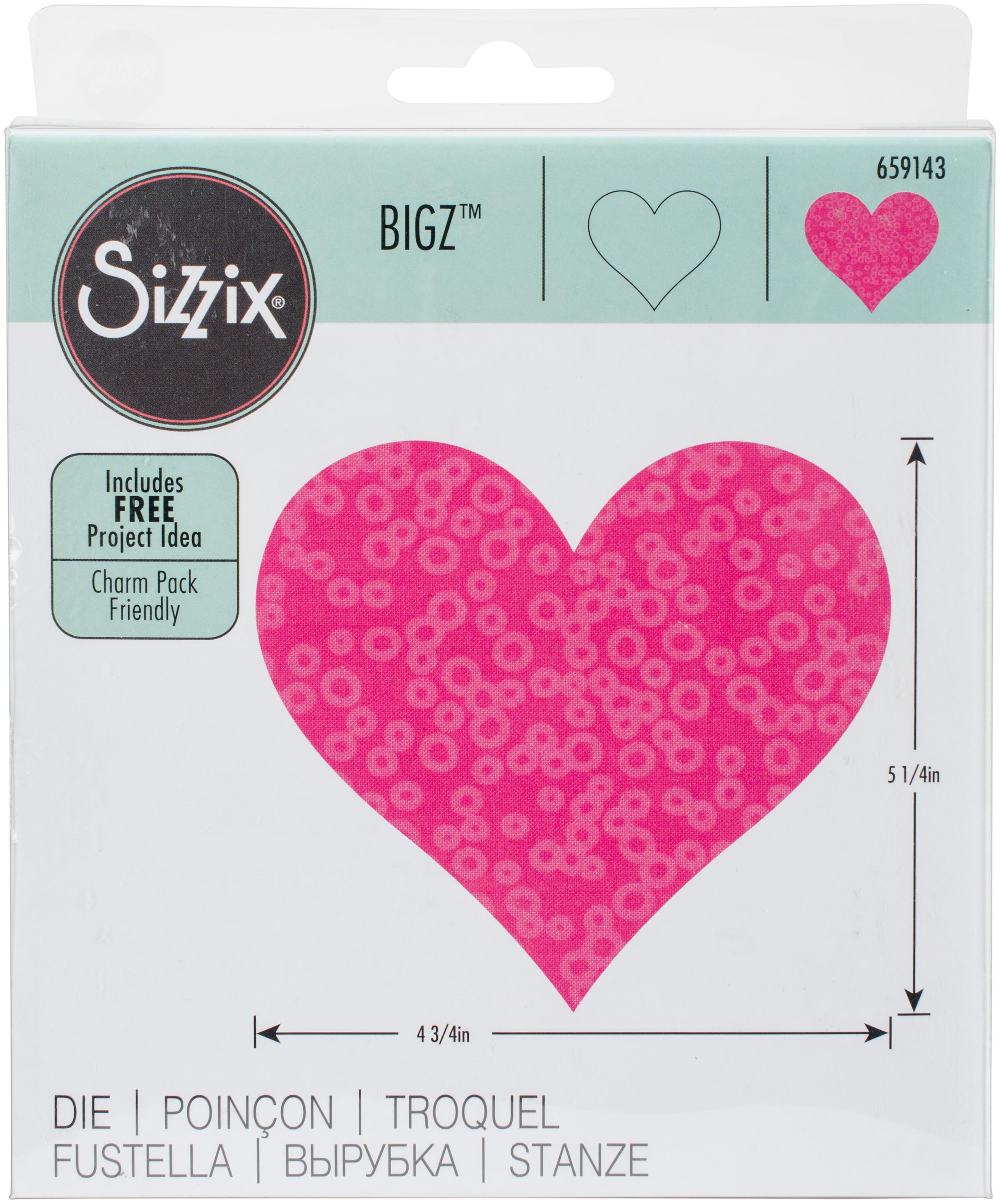 Sizzix Bigz Dies Fabi Edition-Heart #3