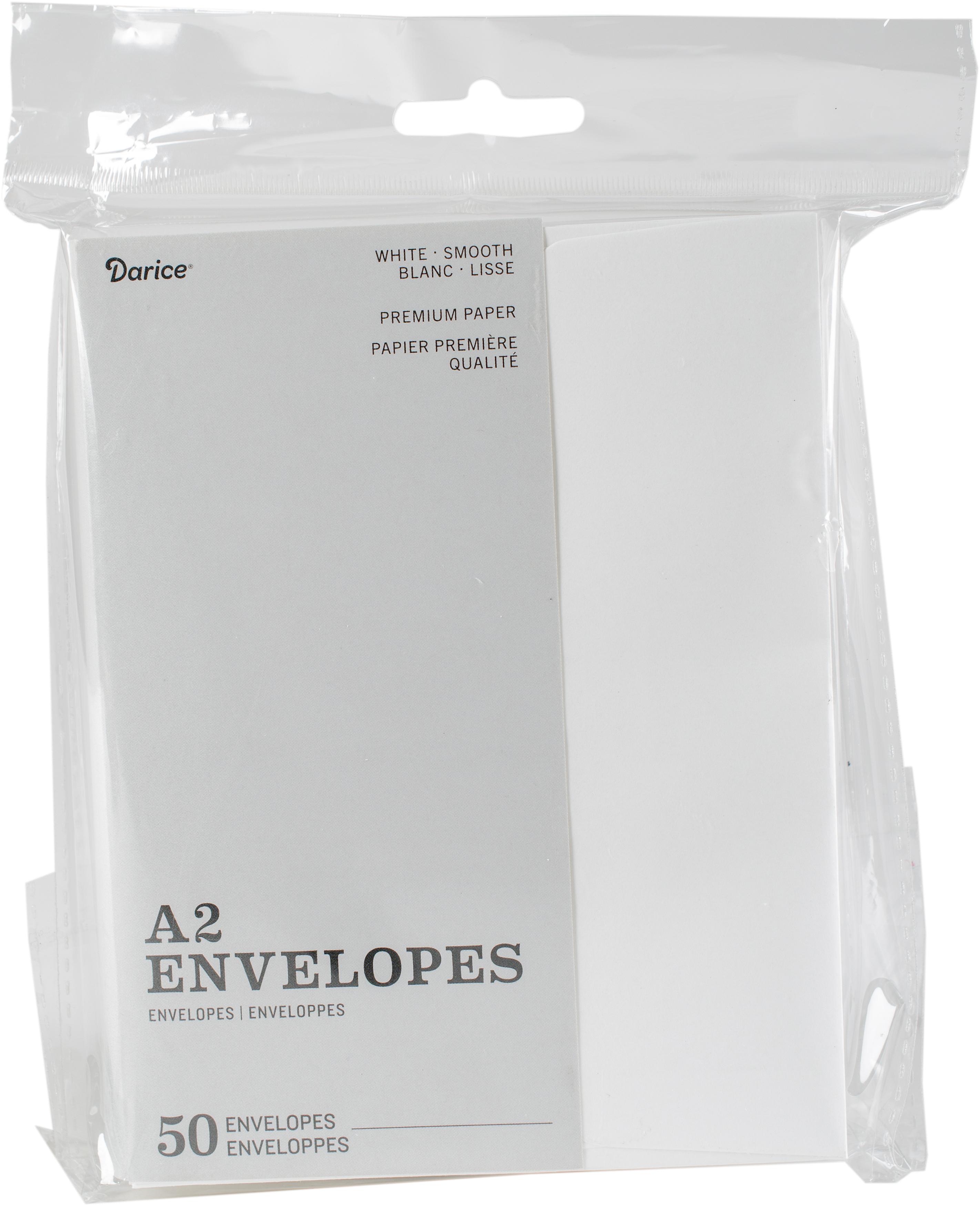 Heavyweight A2 envelopes (4.375x5.75)/50 pkg