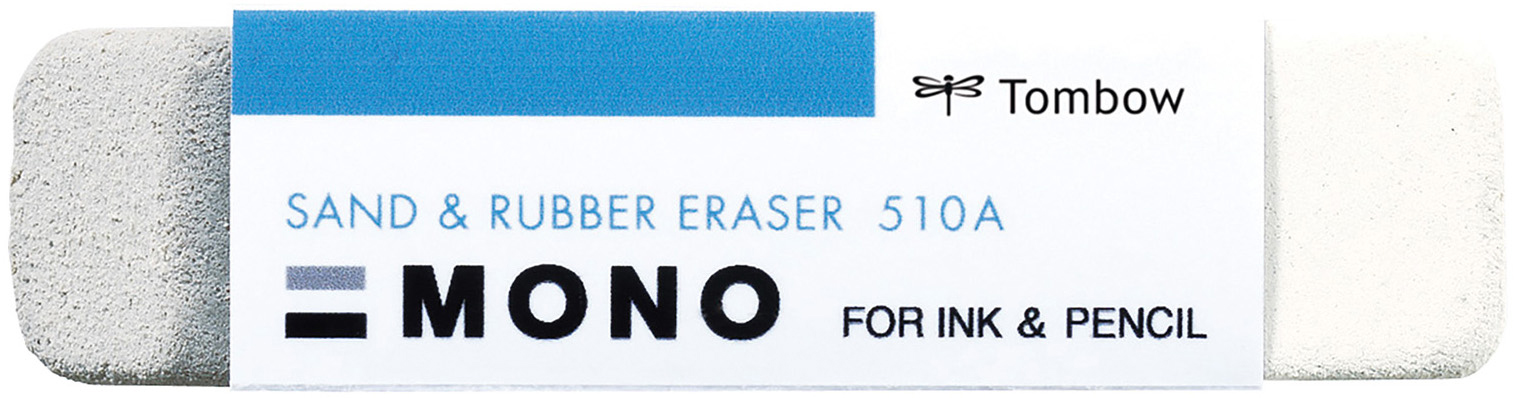 MONO Sand Eraser-For Ink & Pencil