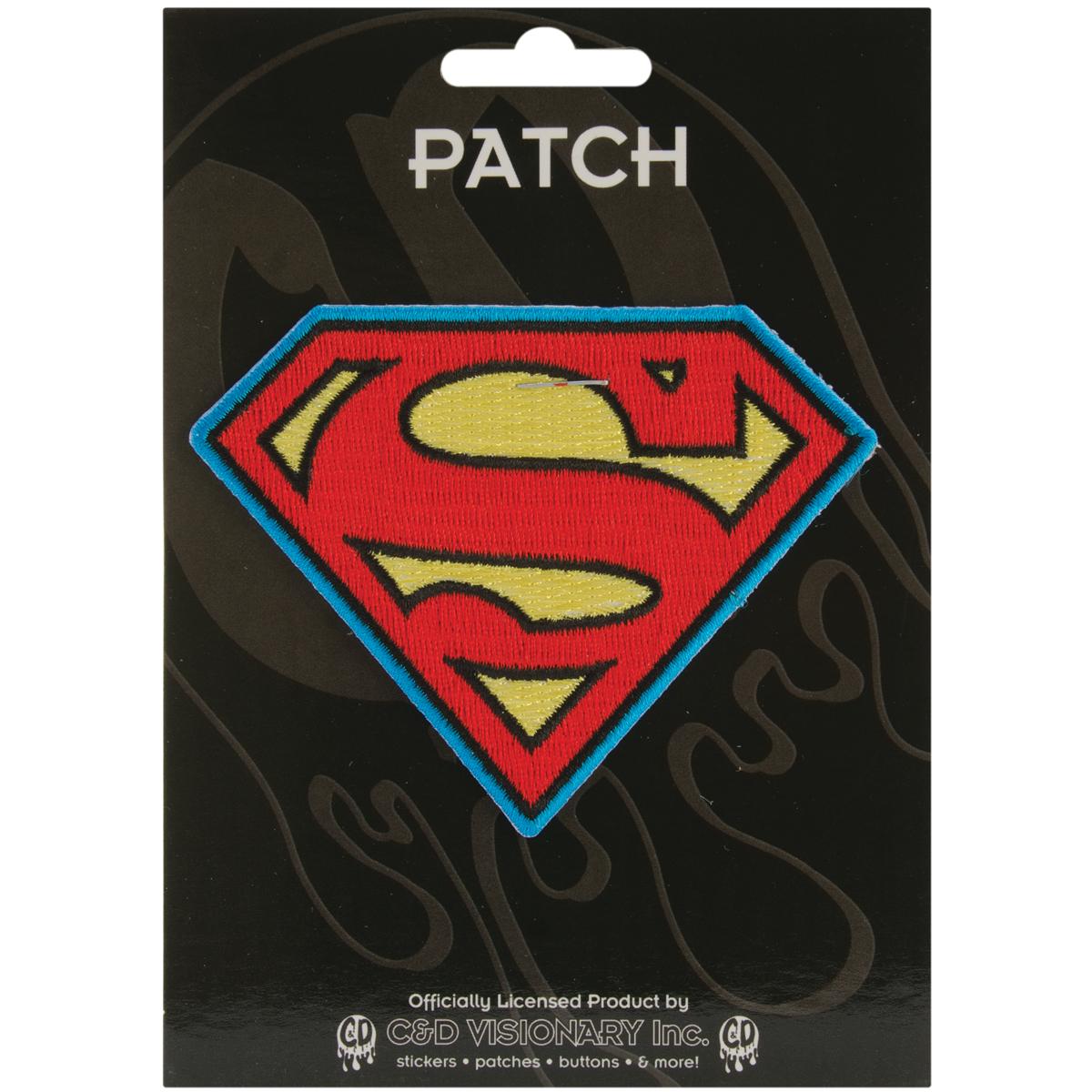 C&D Visionary DC Comics Patch-Superman Insignia 2.75X3