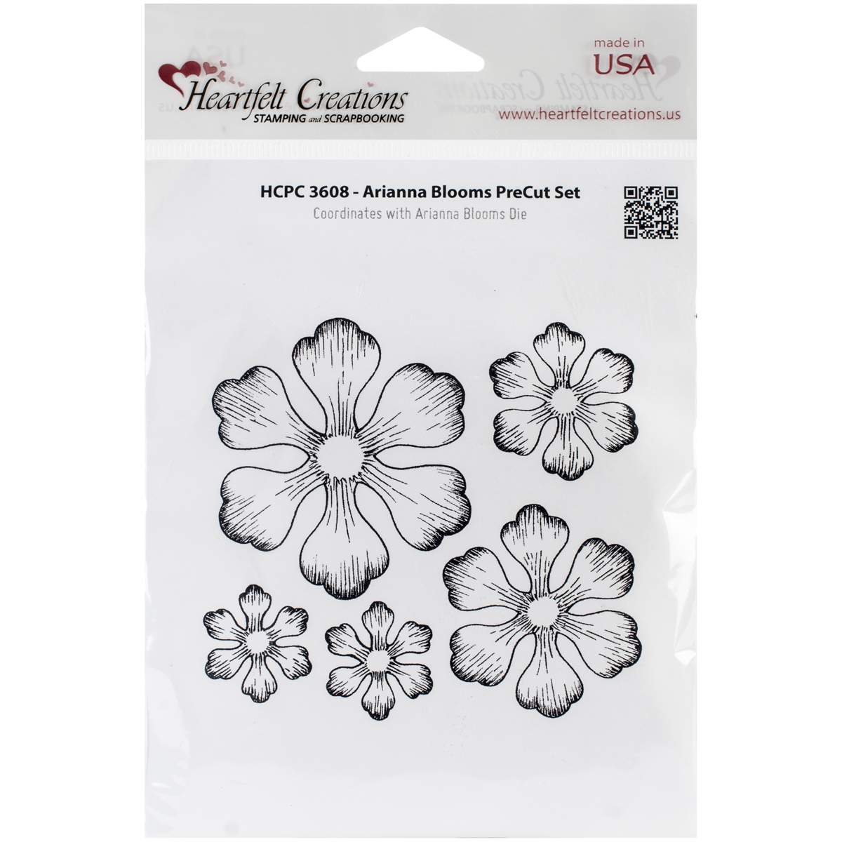 Arianna Blooms Stamps