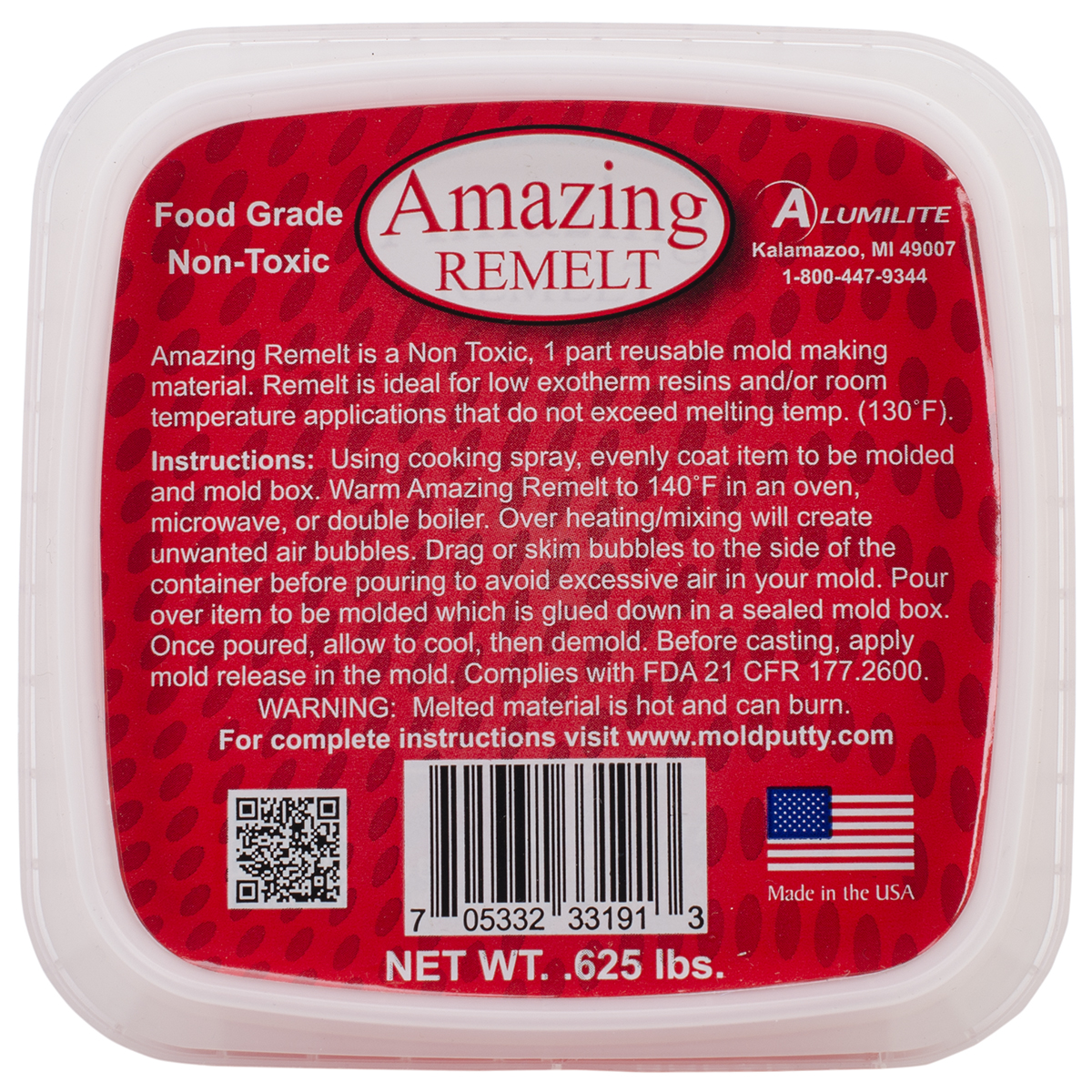 Amazing Remelt .625lb-Red