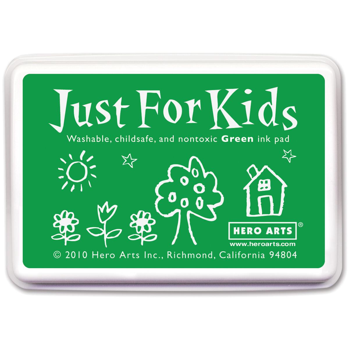Hero Arts Just For Kids Inkpad-Green