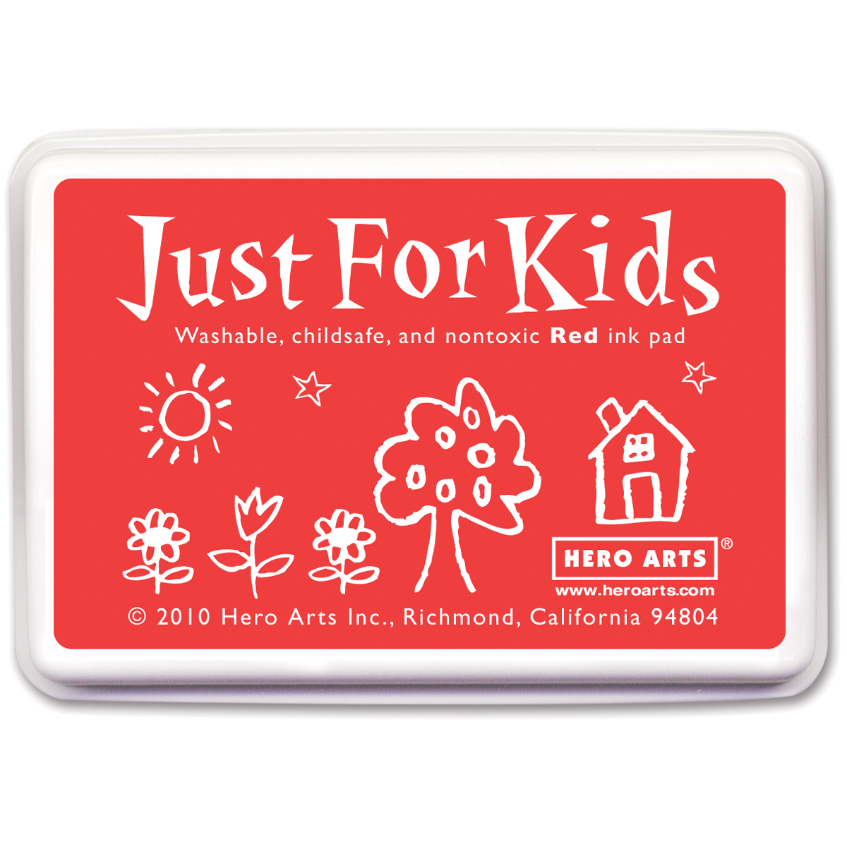 Hero Arts Just For Kids Inkpad-Red