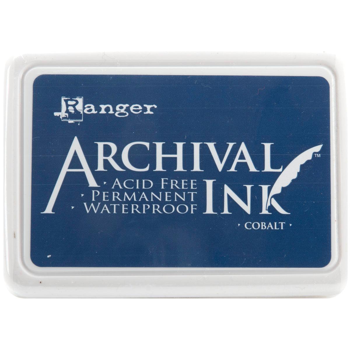 Ranger Archival Ink Pad #0-Cobalt