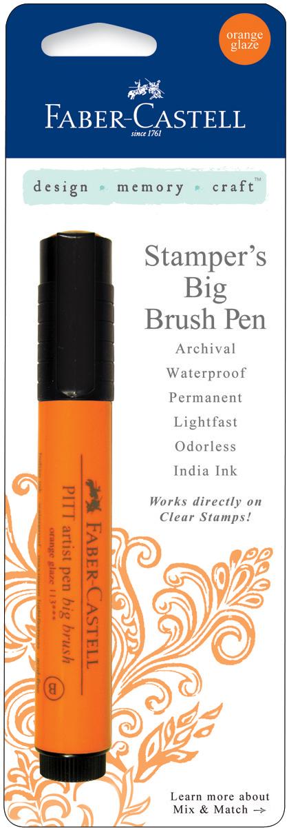 Stamper's Big Brush Pen-Orange Glaze