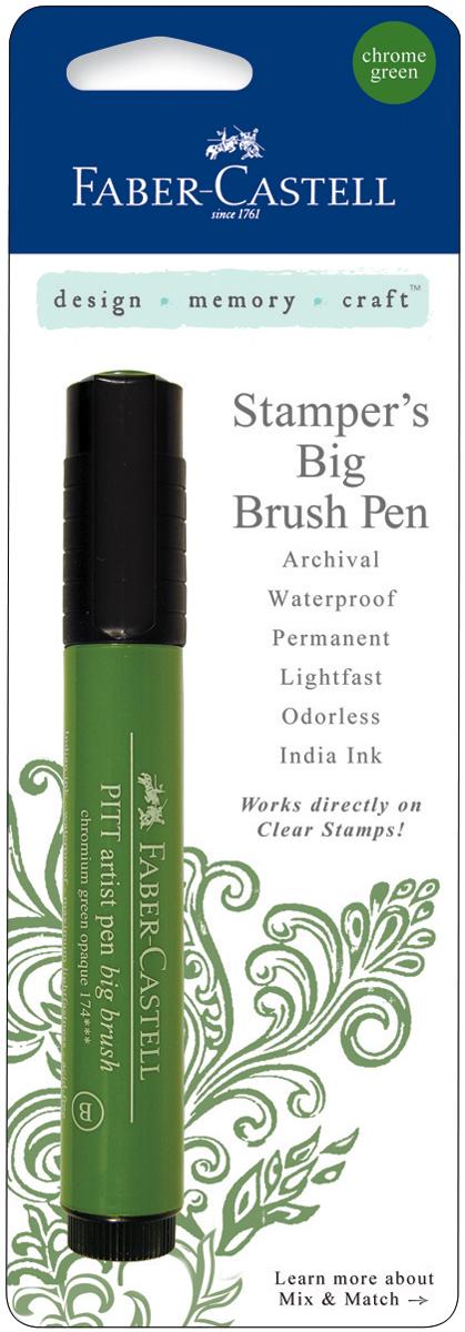 Stamper's Big Brush Pen-Chrome Green
