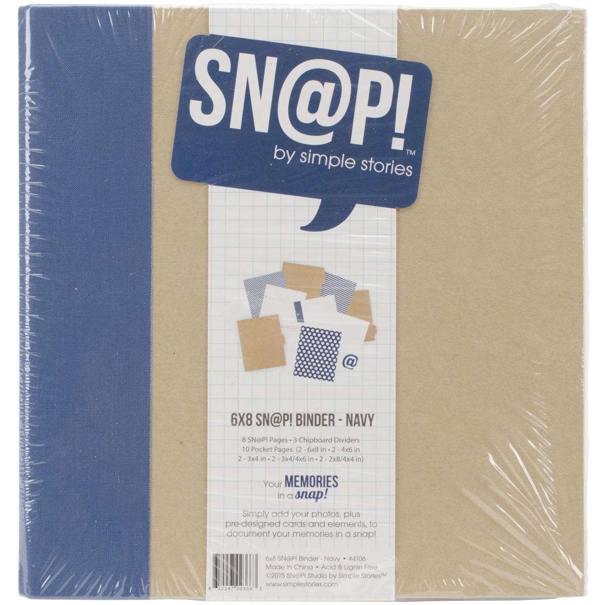 SNAP - 6x8 Studio Collection Binder - Navy