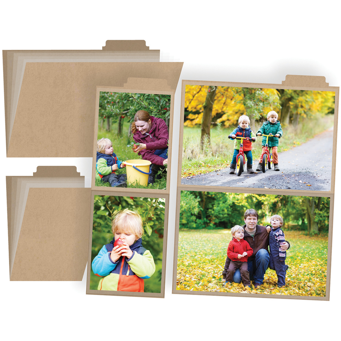 I Am Photo Booklets W/4 Pocket Pages 2/Pkg-4X6 & 3X4