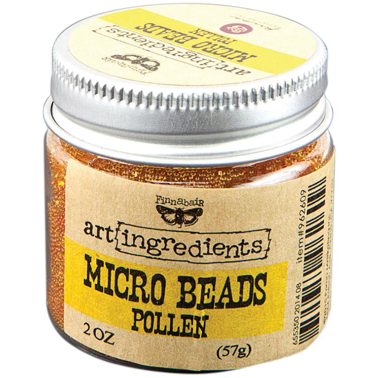 Prima Marketing-Art Ingredients Micro Beads Pollen