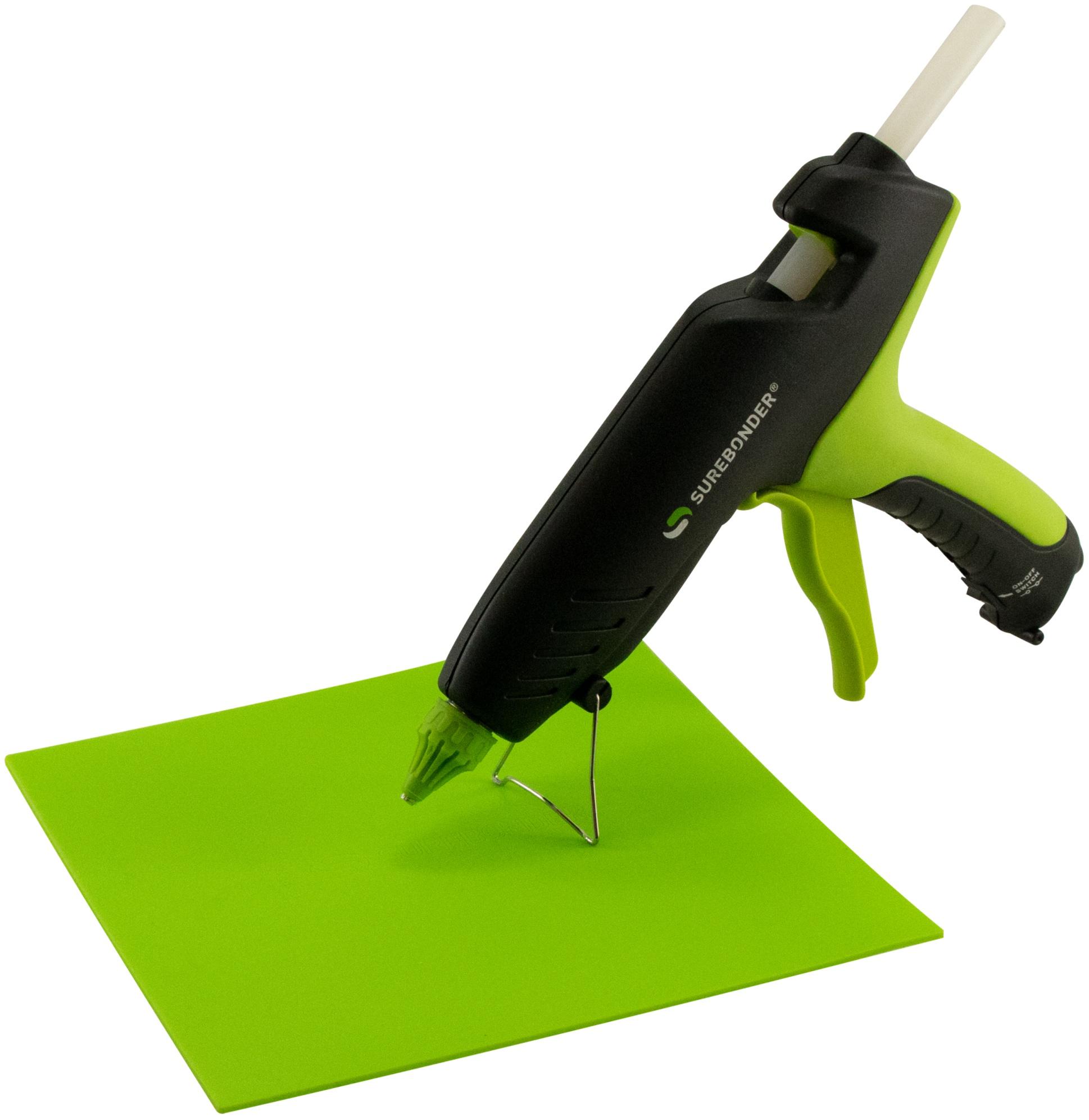 Glue Gun Pad-8x8 Green