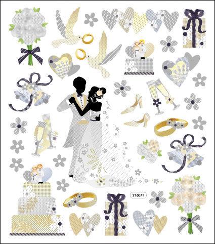 Sticker King Stickers-Wedding Dance