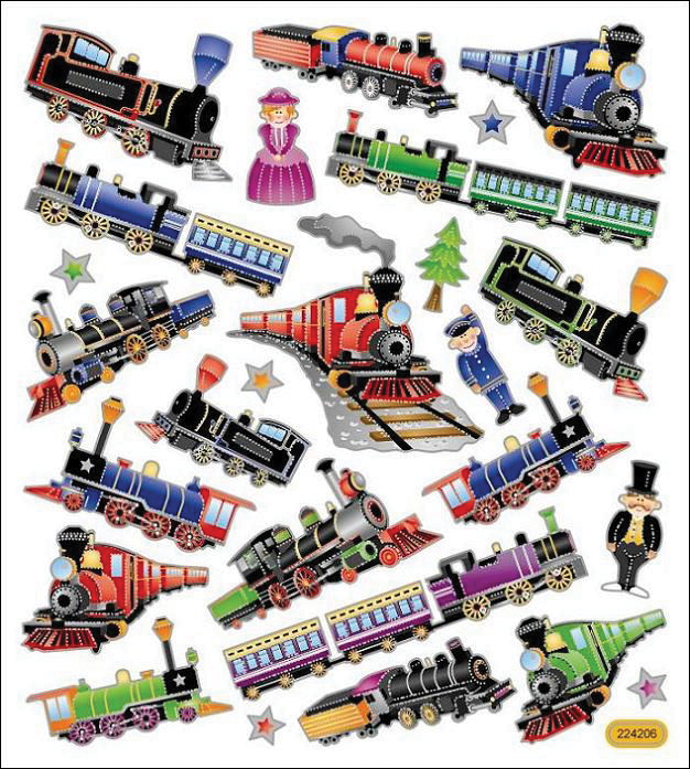 Trains Multicolors