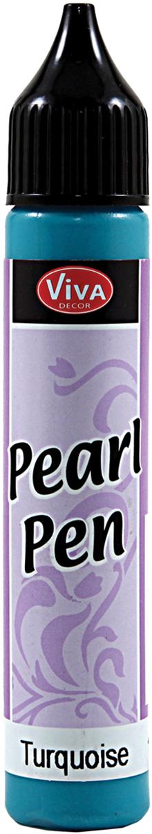 Viva Decor Pearl Pen 25ml-Turquoise