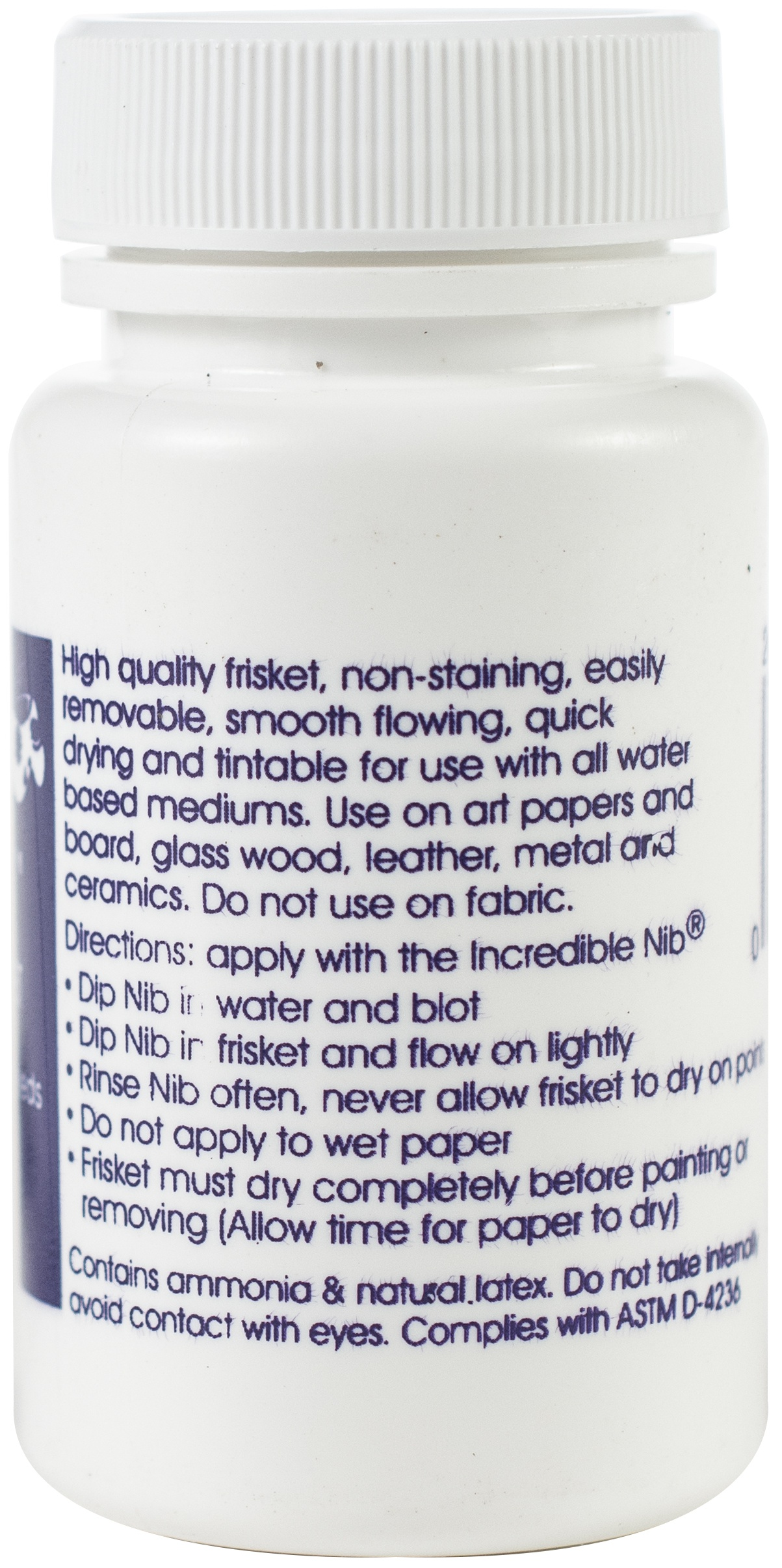 Incredible White Mask Liquid Frisket-2oz