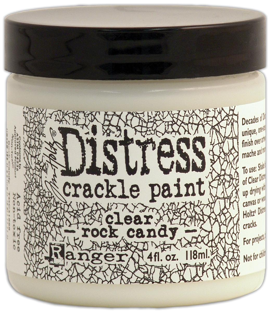 Tim Holtz - Distress Crackle Paint - Clear Rock Candy 4oz
