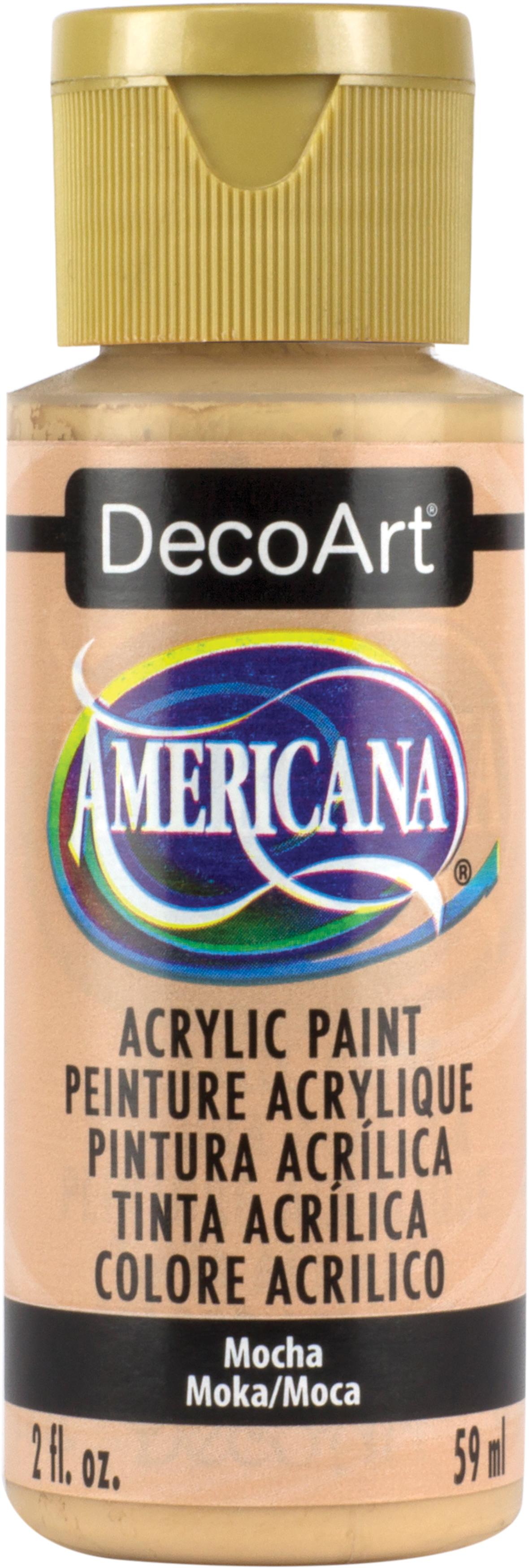 Americana Acrylic Paint 2oz-Mocha