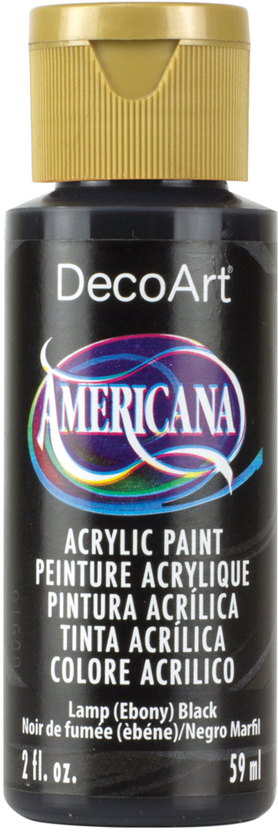 Americana Acrylic Paint 2oz-Snow White - Opaque
