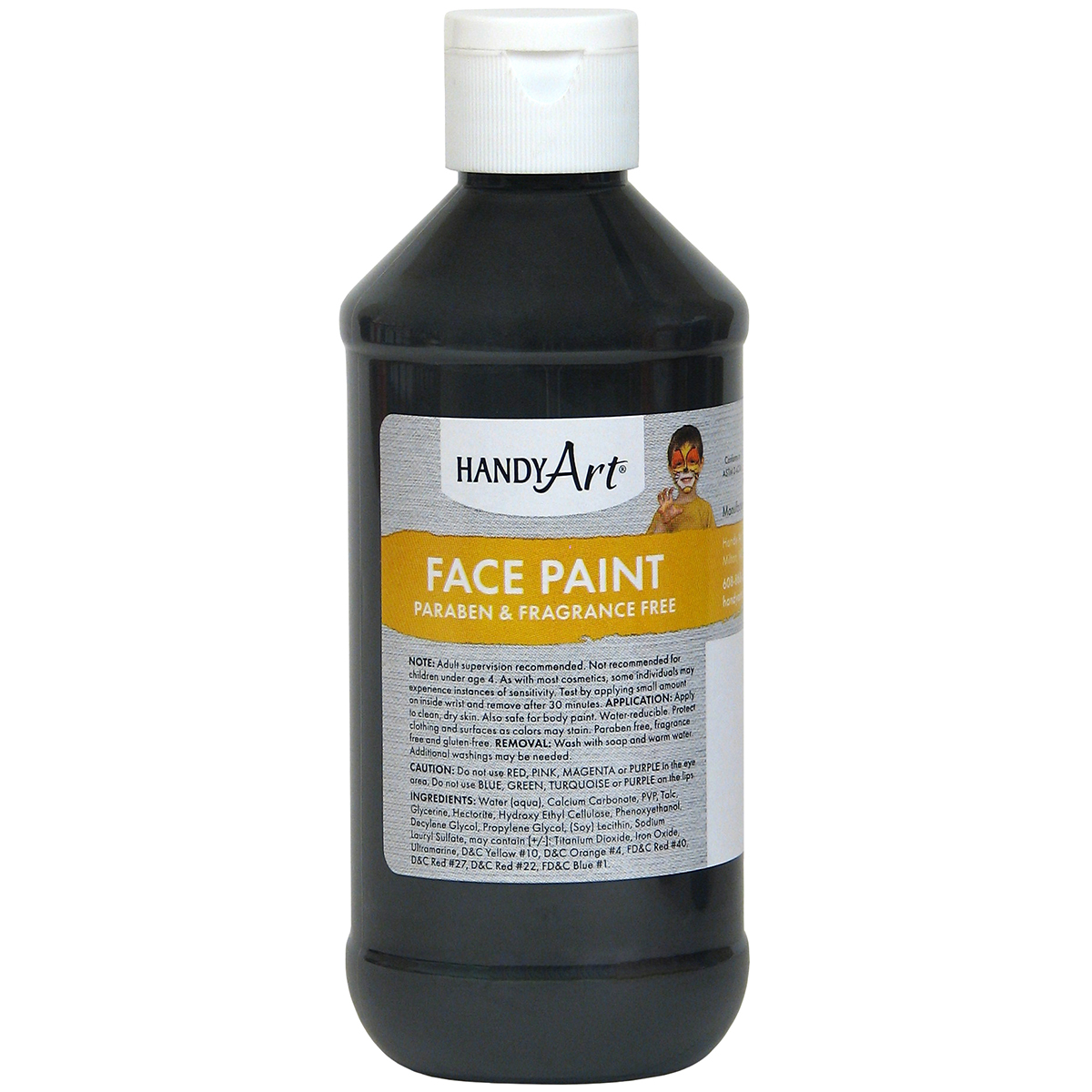 Black-Face Paint 8 oz