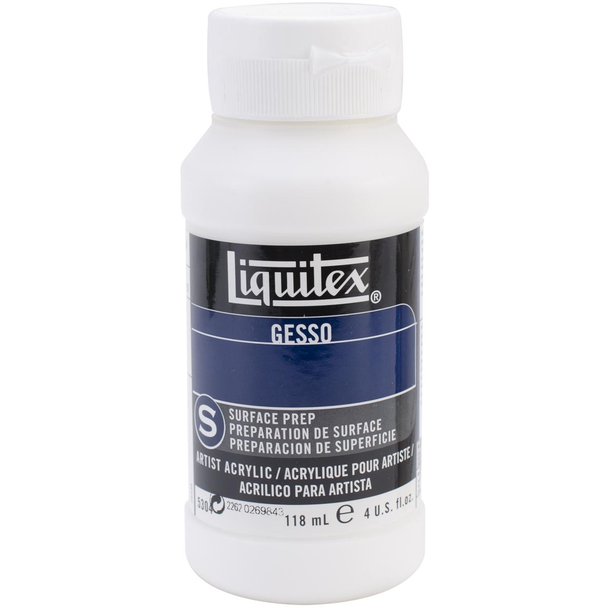 Liquitex Acrylic Gesso Surface Prep-White 4oz