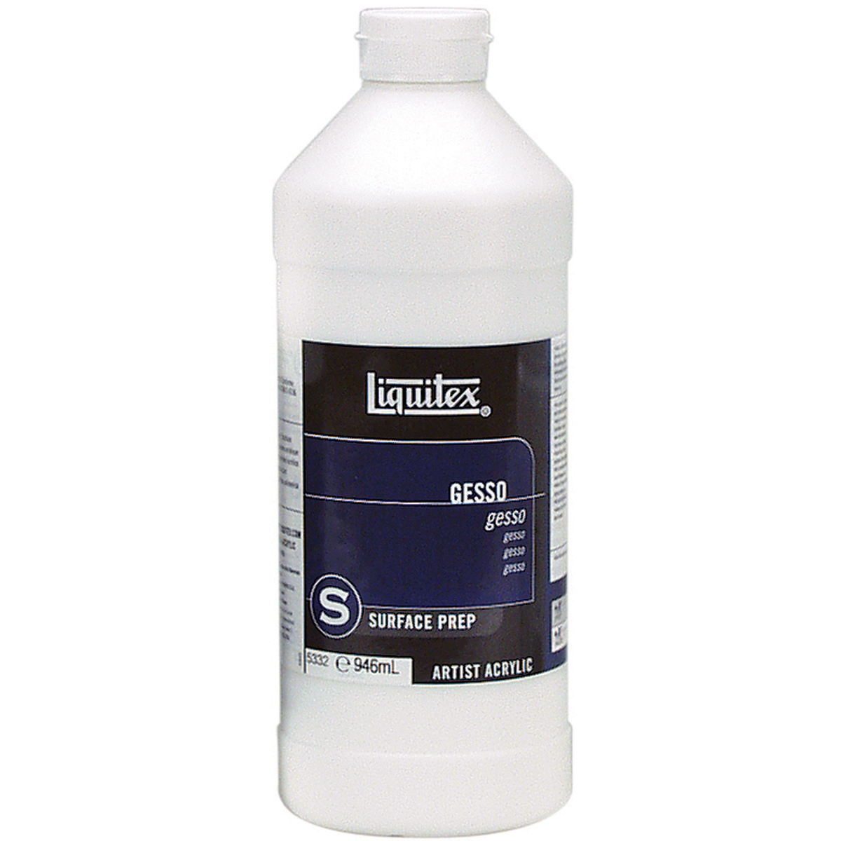 Liquitex Acrylic Gesso Surface Prep-White 32oz