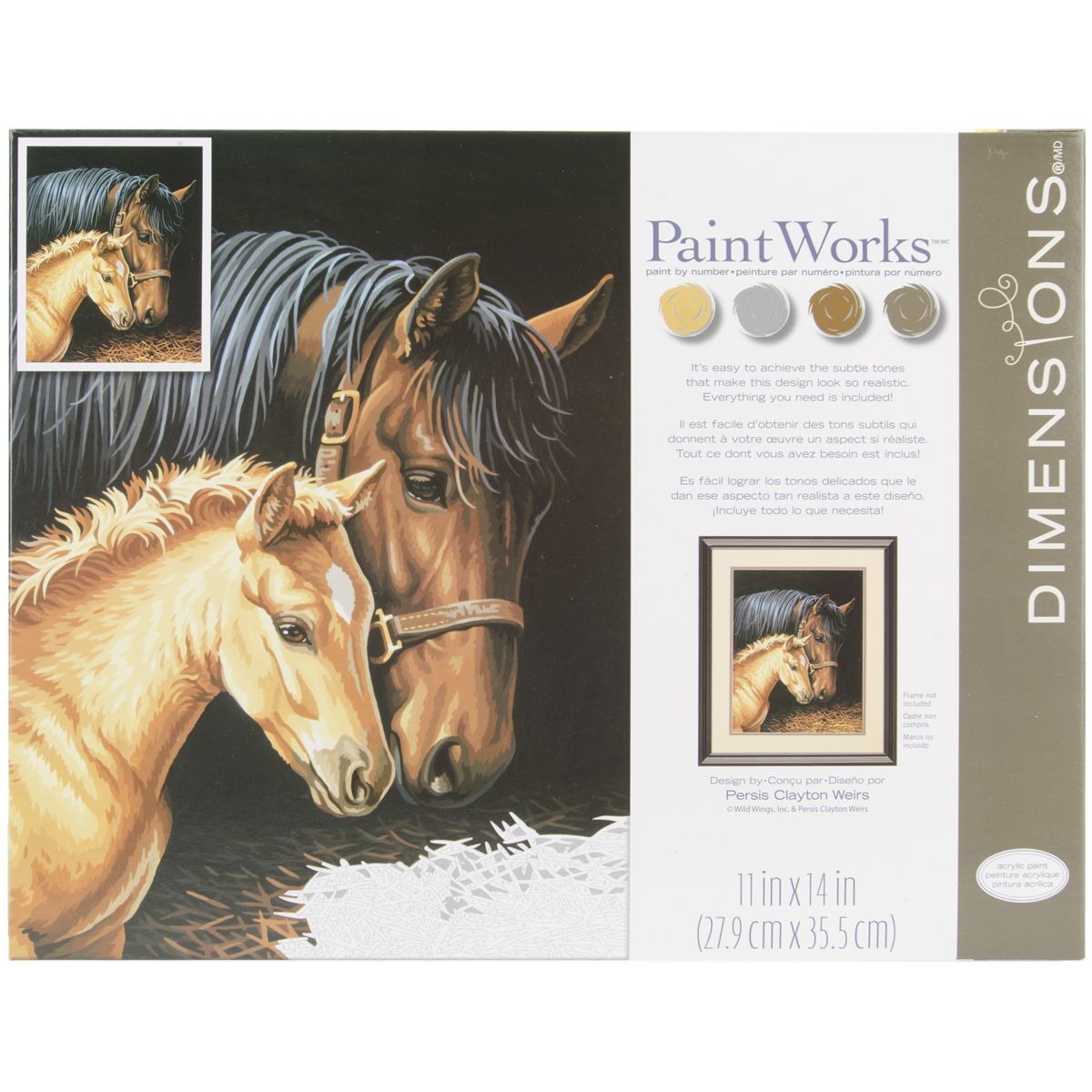 Paint Works Paint By Number Kit 11X14-Gentle Touch