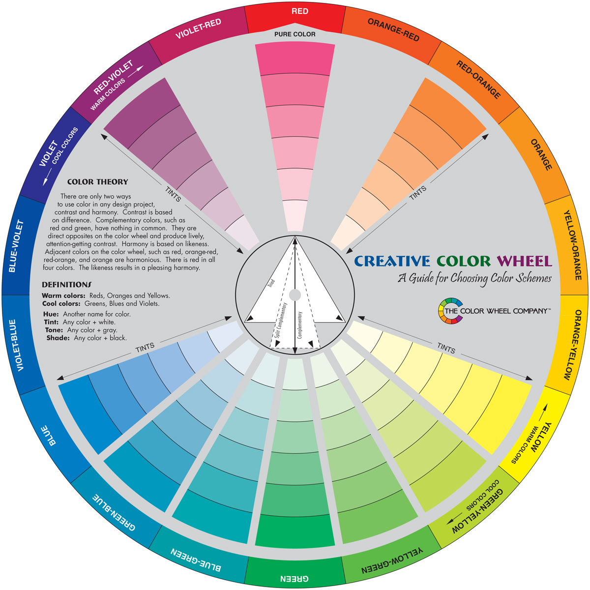 Creative Color Wheel-9.25