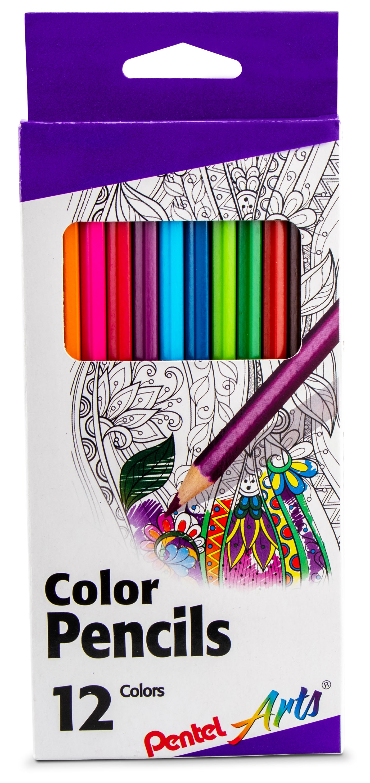 Colored Pencils 12/Pkg-Assorted Colors