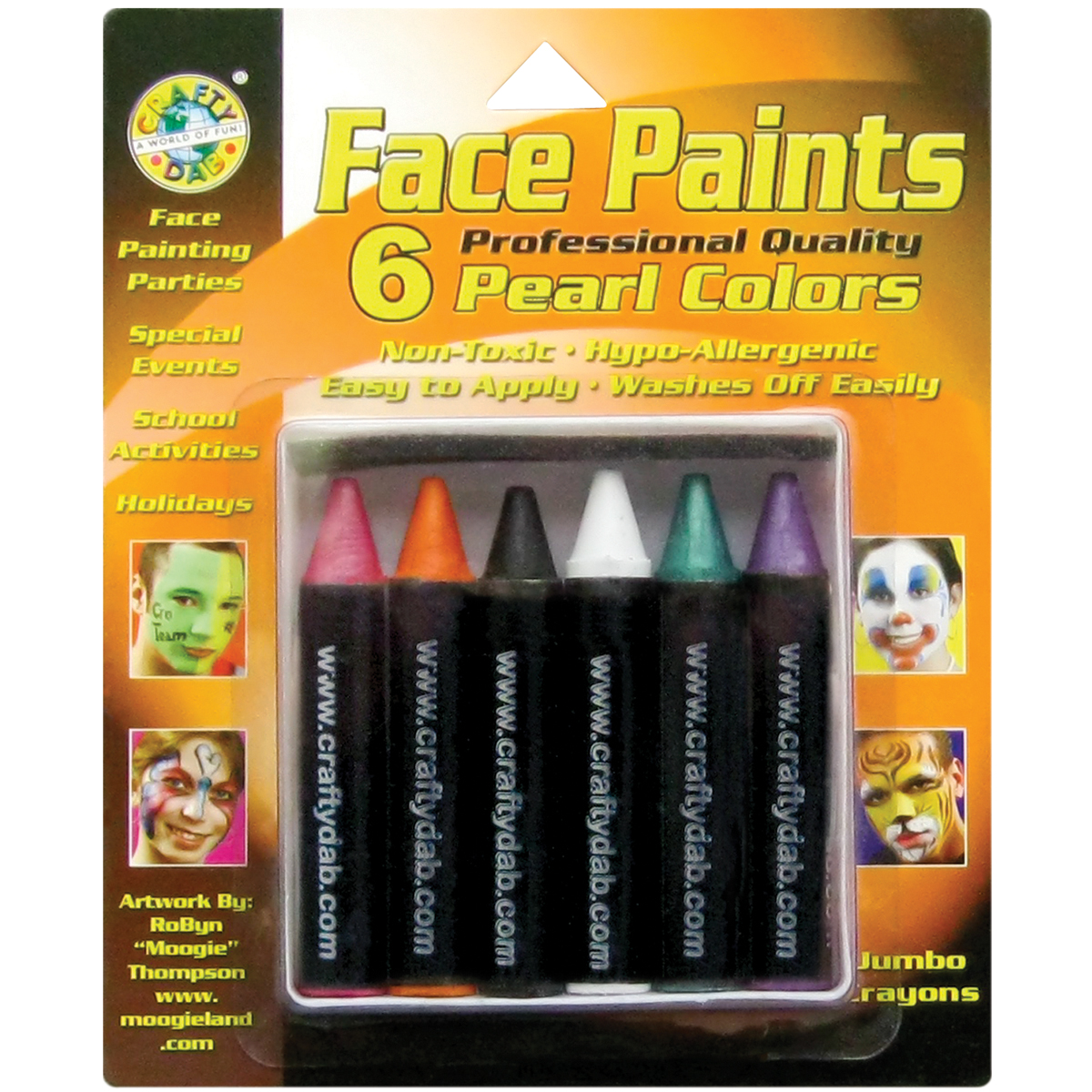 Pearl - Jumbo Face Paints