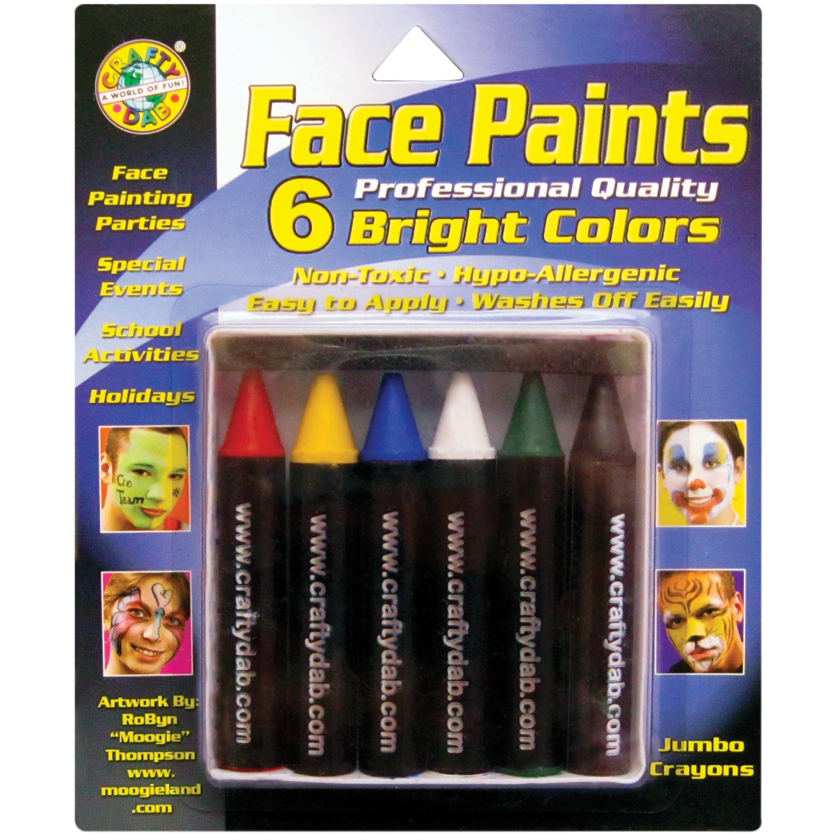 Bright - Jumbo Face Paints