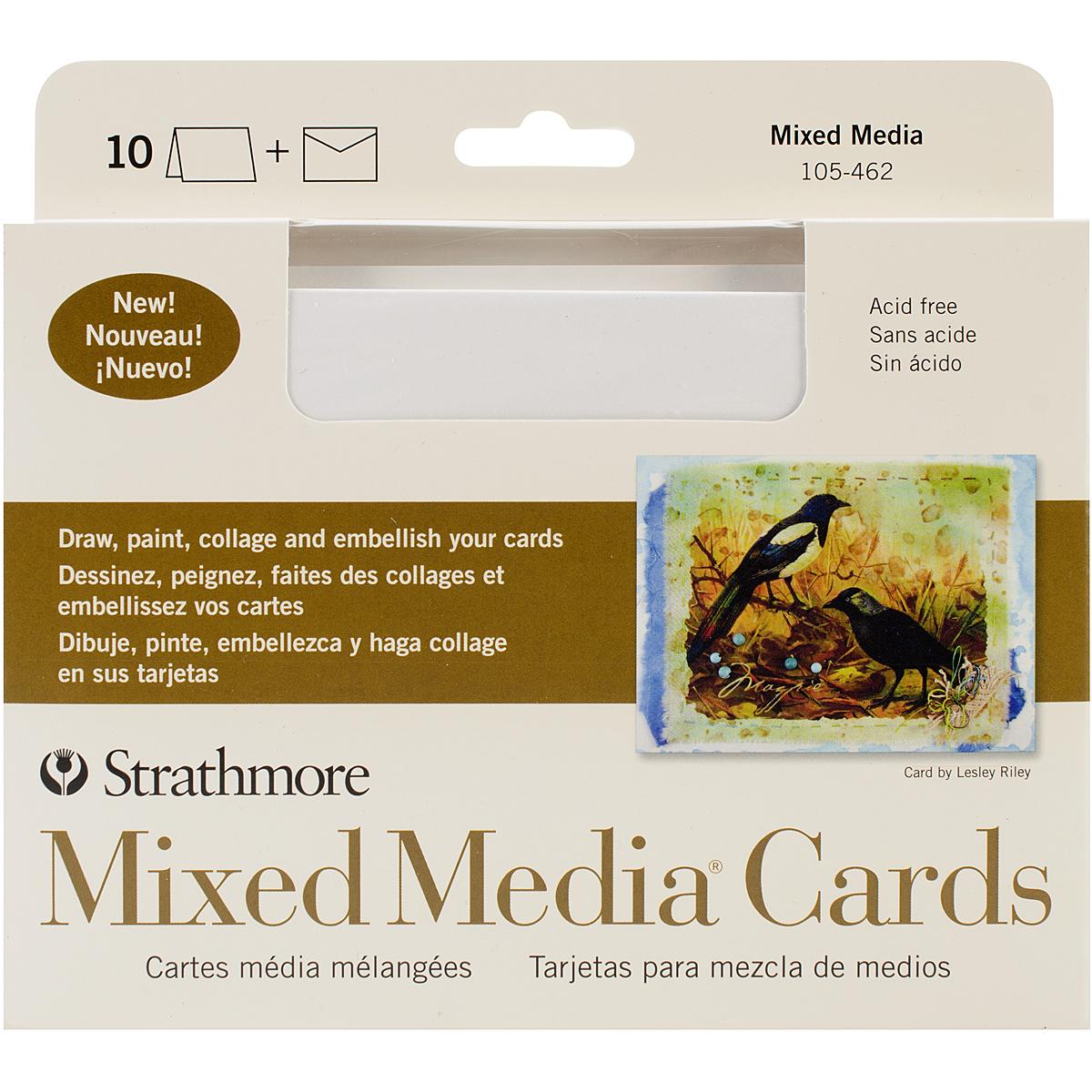 Strathmore Mixed Media Cards & Envelopes